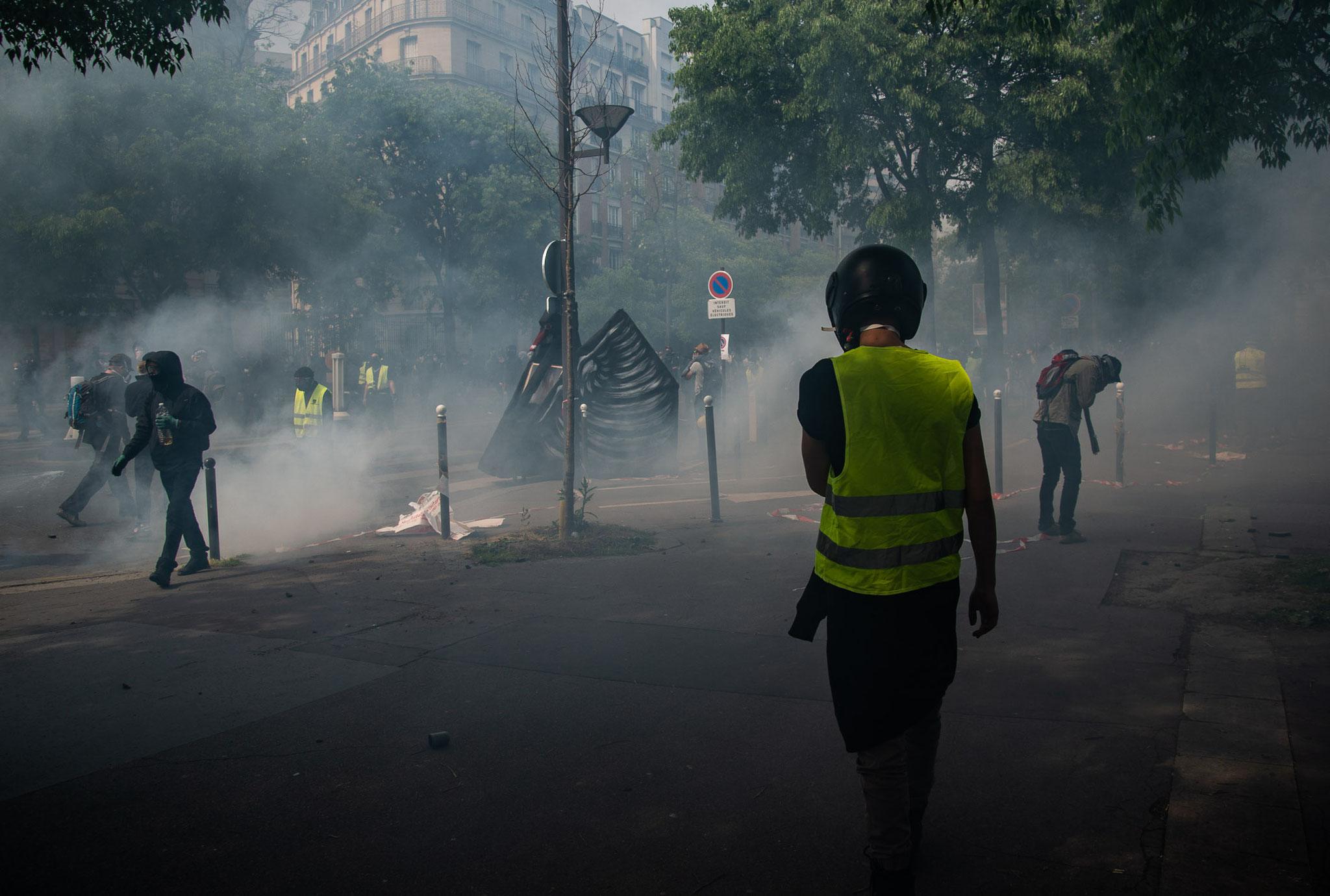 Manifestation Parisienne du Premier Mai 2019