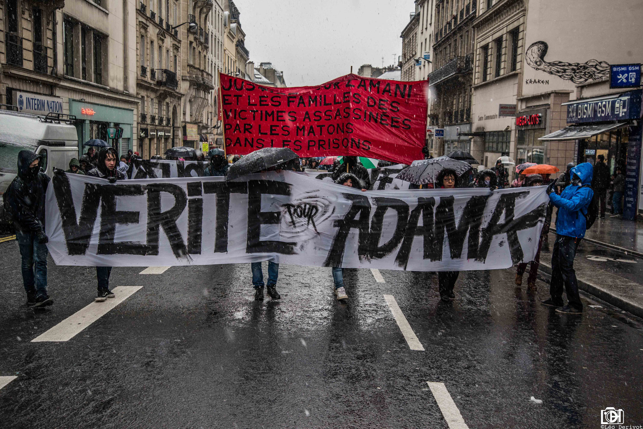 Marche solidarité, Paris, 17 Mars 2018