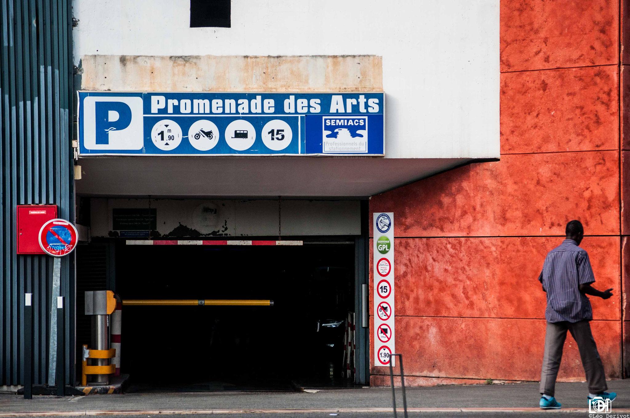 Parking 1, Nice, 2017