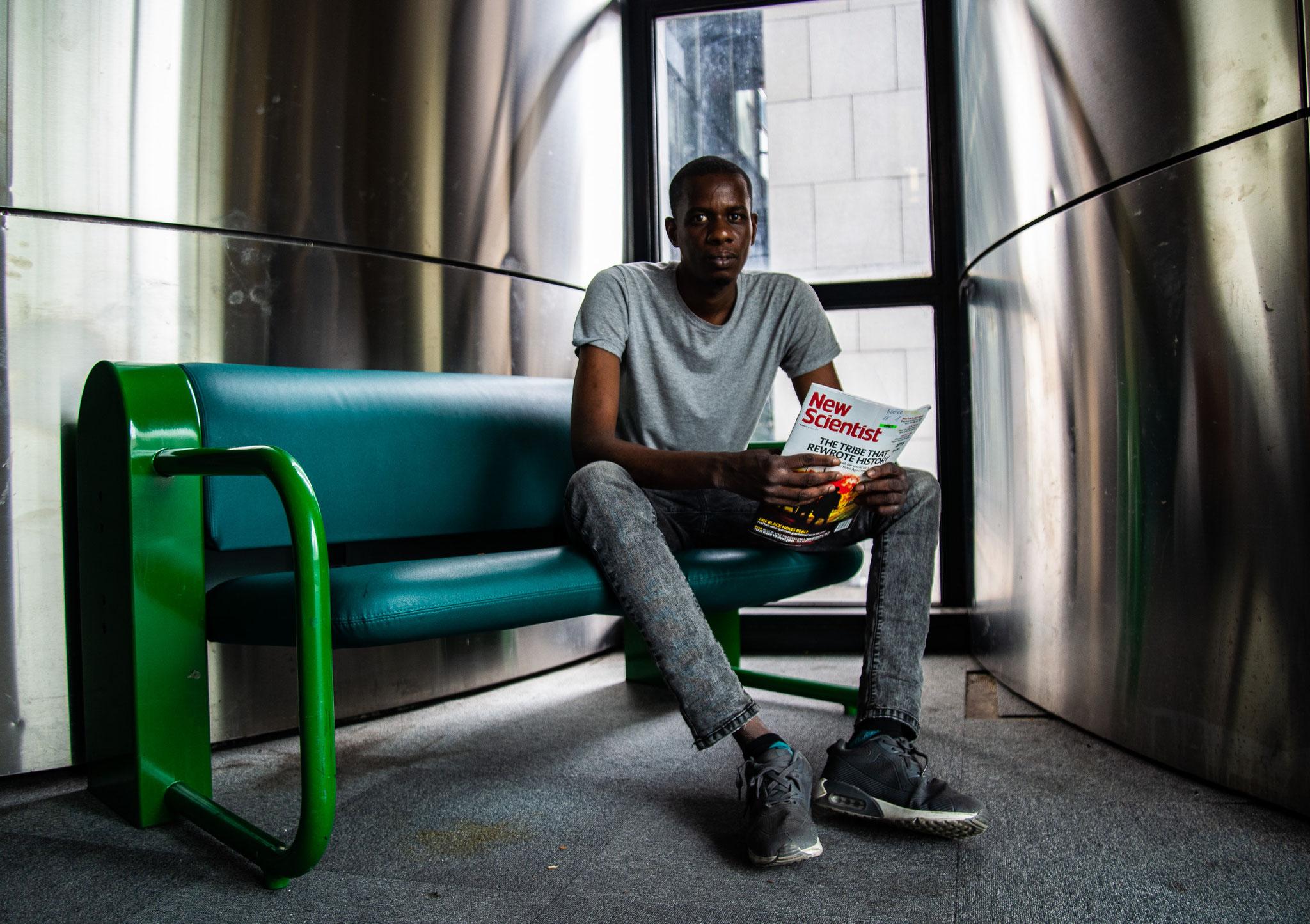 Les réfugiés de la bibliothèque de la Villette, 2019