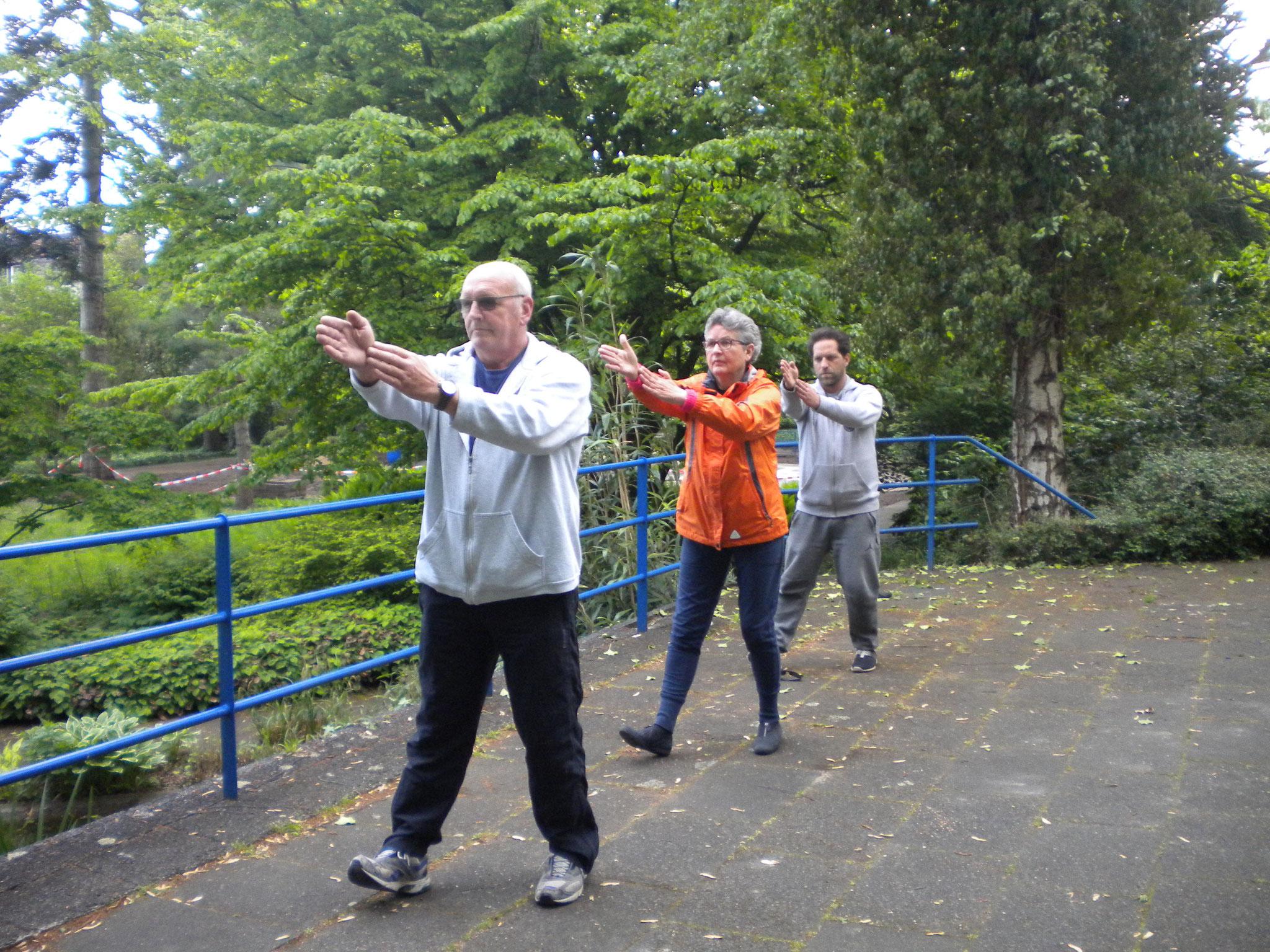 Wu Tai Chi im Botanischen Garten Neuss