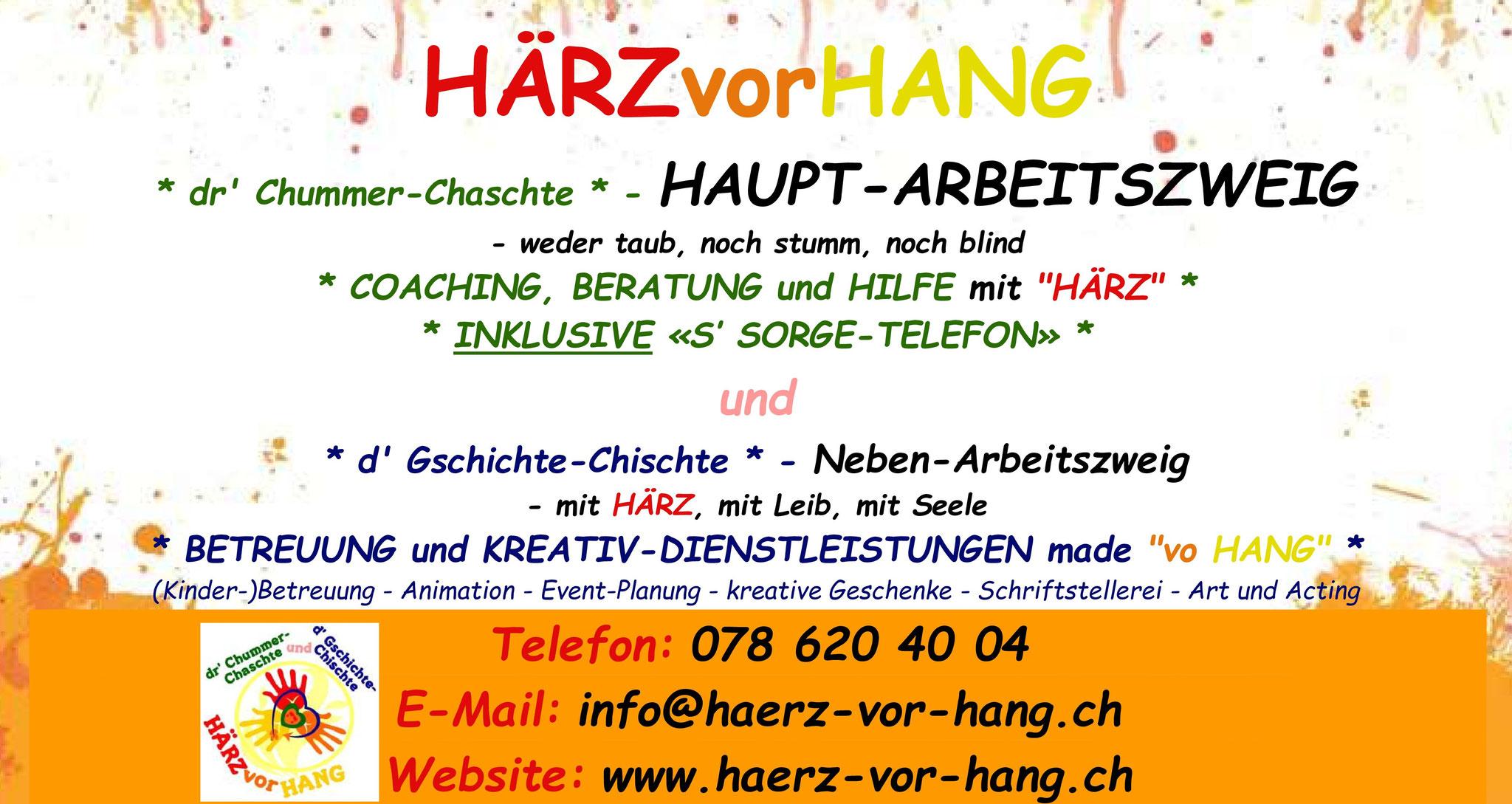 ... auf der Homepage von HÄRZvorHANG! ...