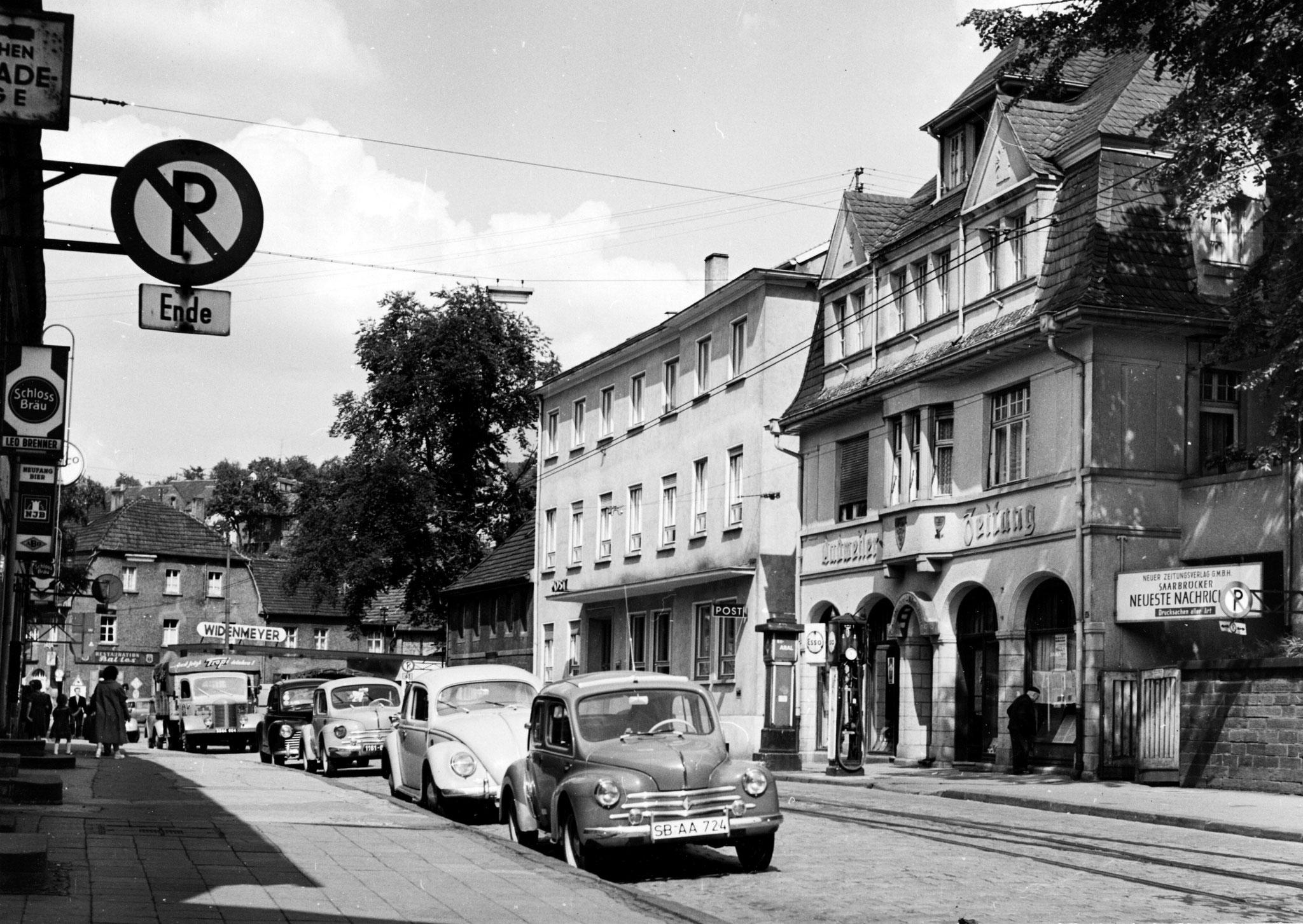 Dudweiler Zeitung und Post 1950er Jahre