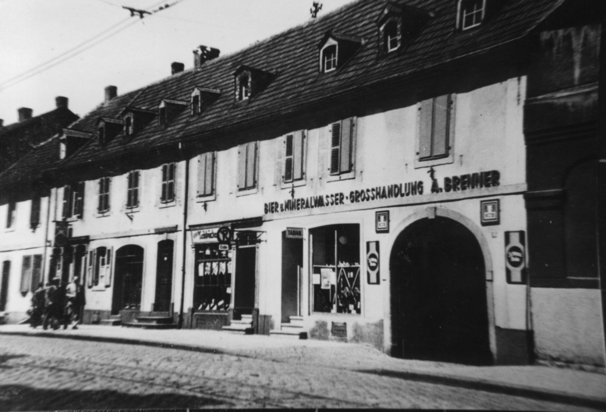 Getränkevertrieb Brenner 1930