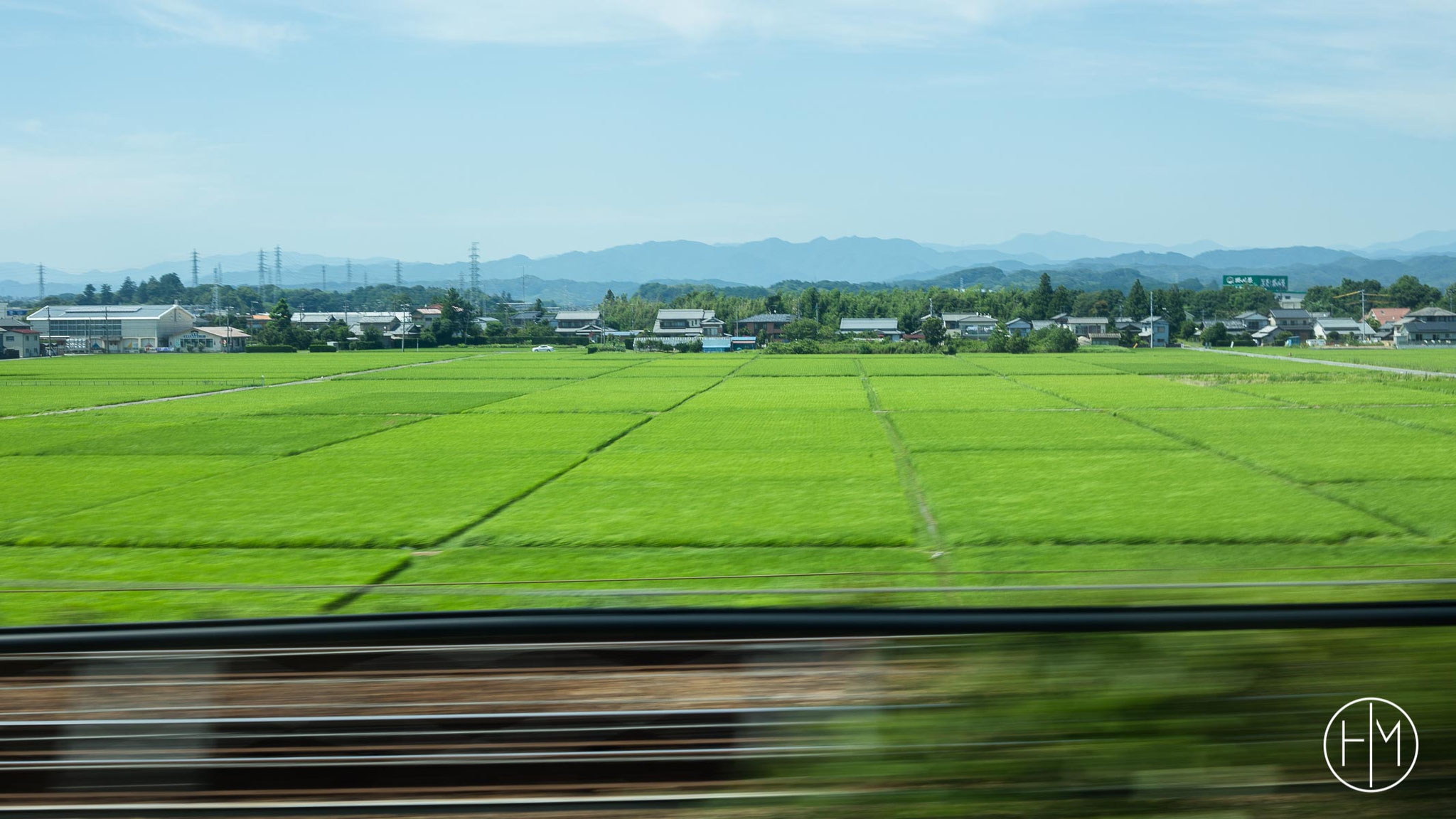 A bord du train Shinkansen