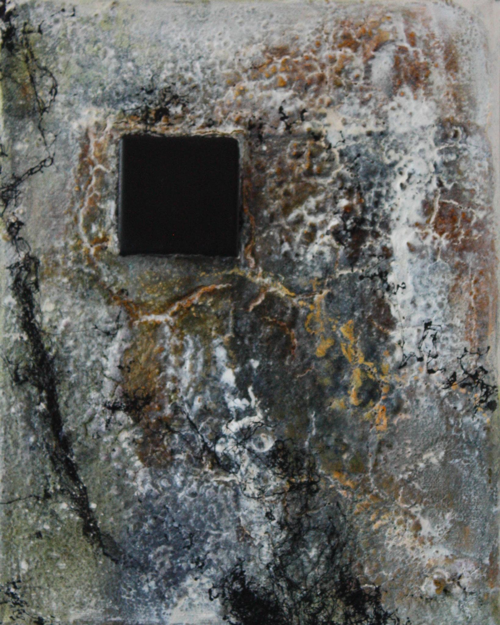"""2016-12 / """"Der Fremdkörper I"""" / 20 x 25 cm"""