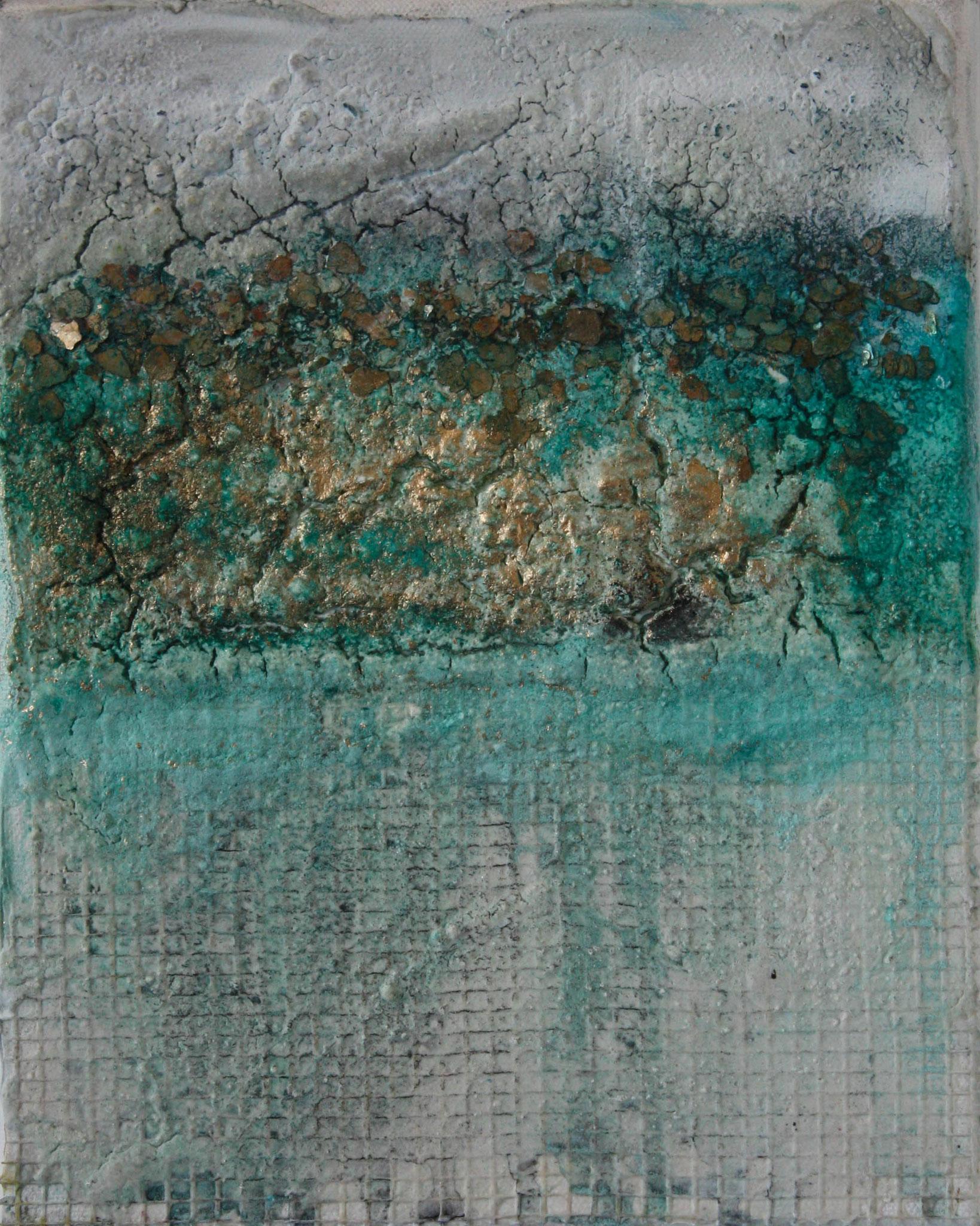 """2016-11 / (2 von 2 Bilder) """"Goldrausch"""" / 20 x 25 cm"""