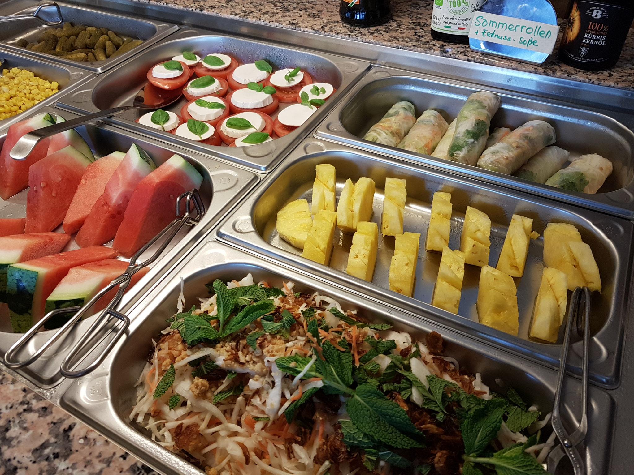 Ein rein veganes All-You-Can-Eat mit frischen Zutaten!