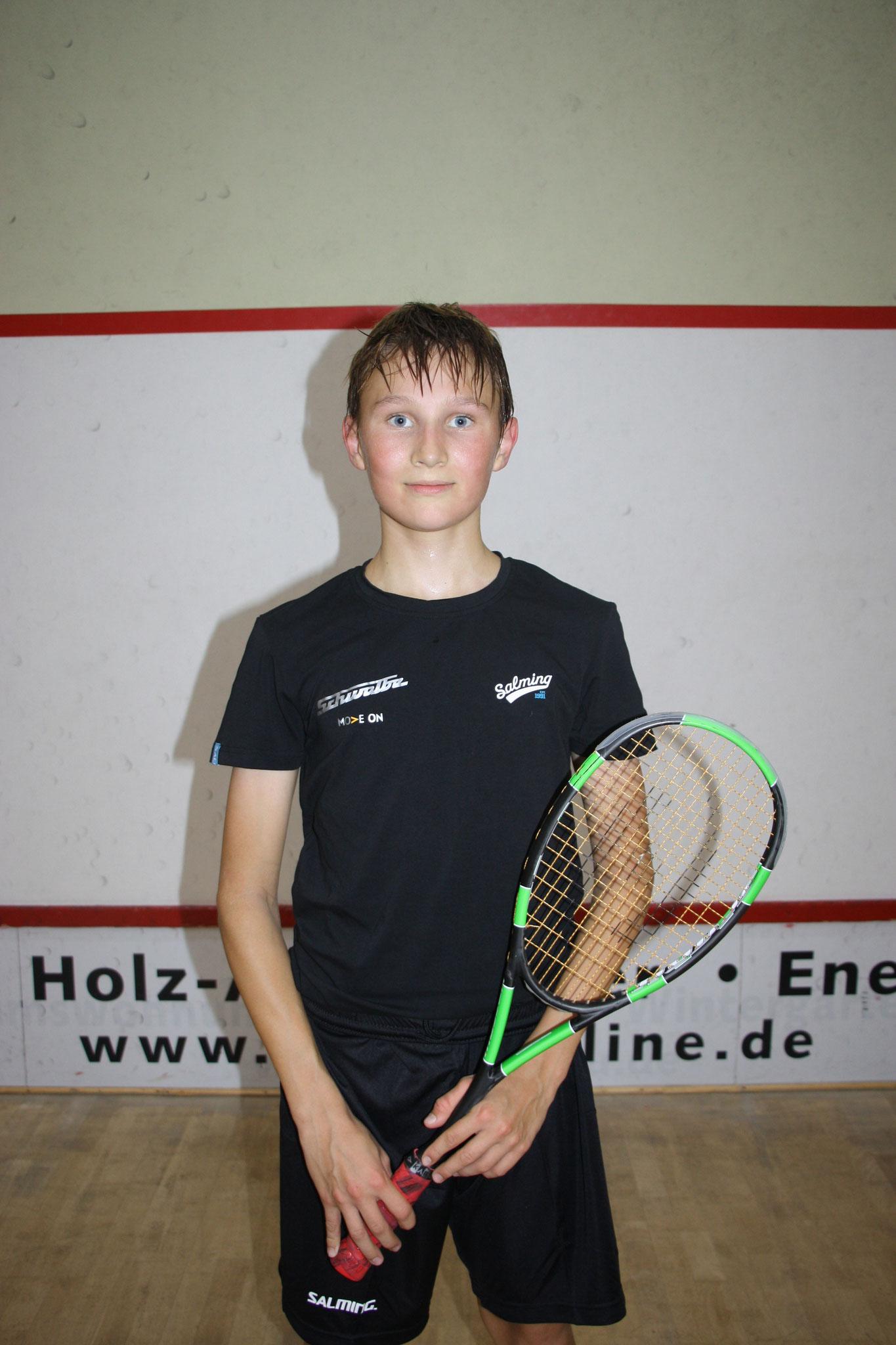 Bene Friedl - 15 Jahre - Kaderspieler