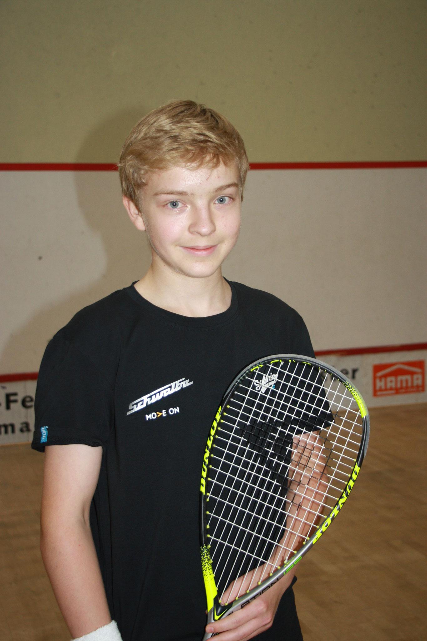 Flo Stöger - 14 Jahre - Kaderspieler