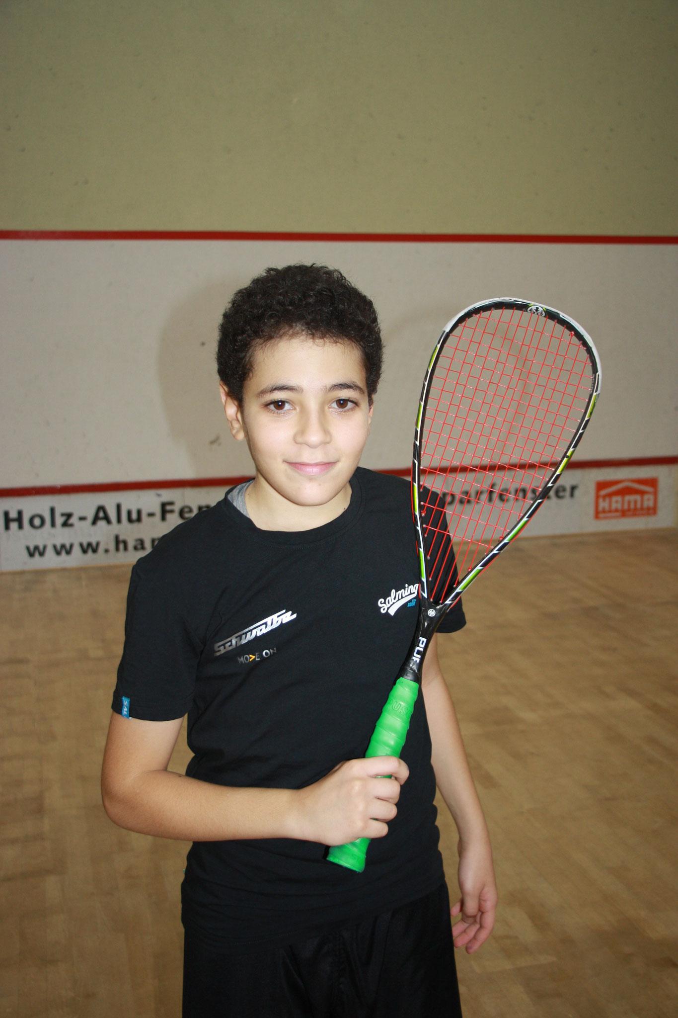 Yousseff El Gammal - 12 Jahre - Dt. Meister
