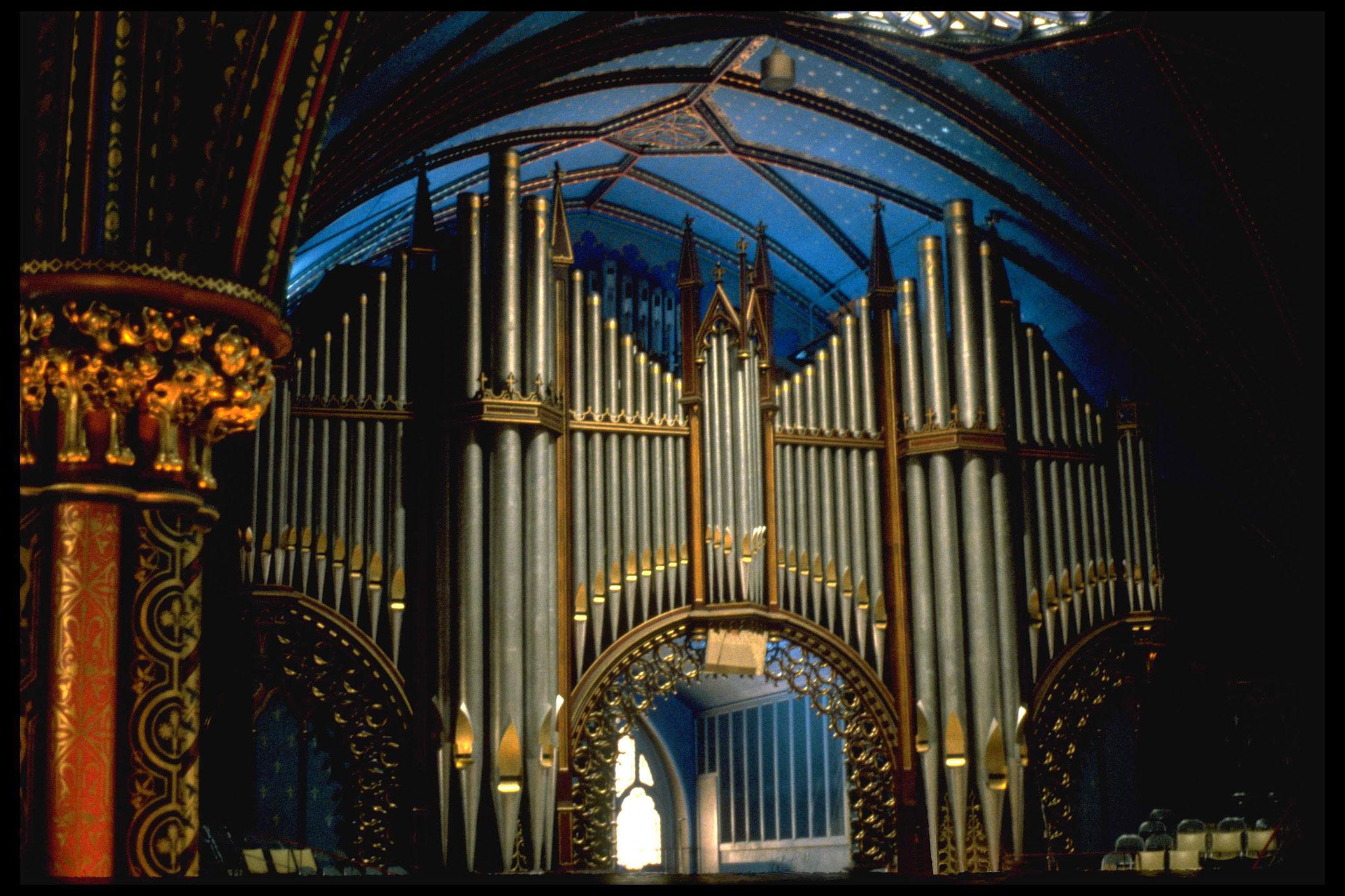 Basilique Notre-Dame, Montréal, QC