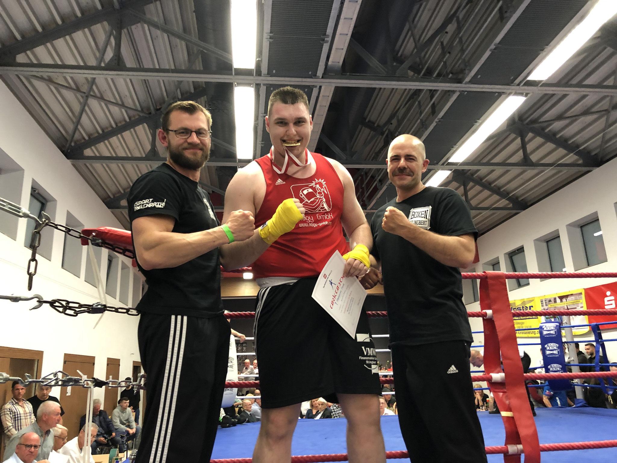 Tarik Hasanovic, Saarlandmeister, Klasse 91 kg + Männer