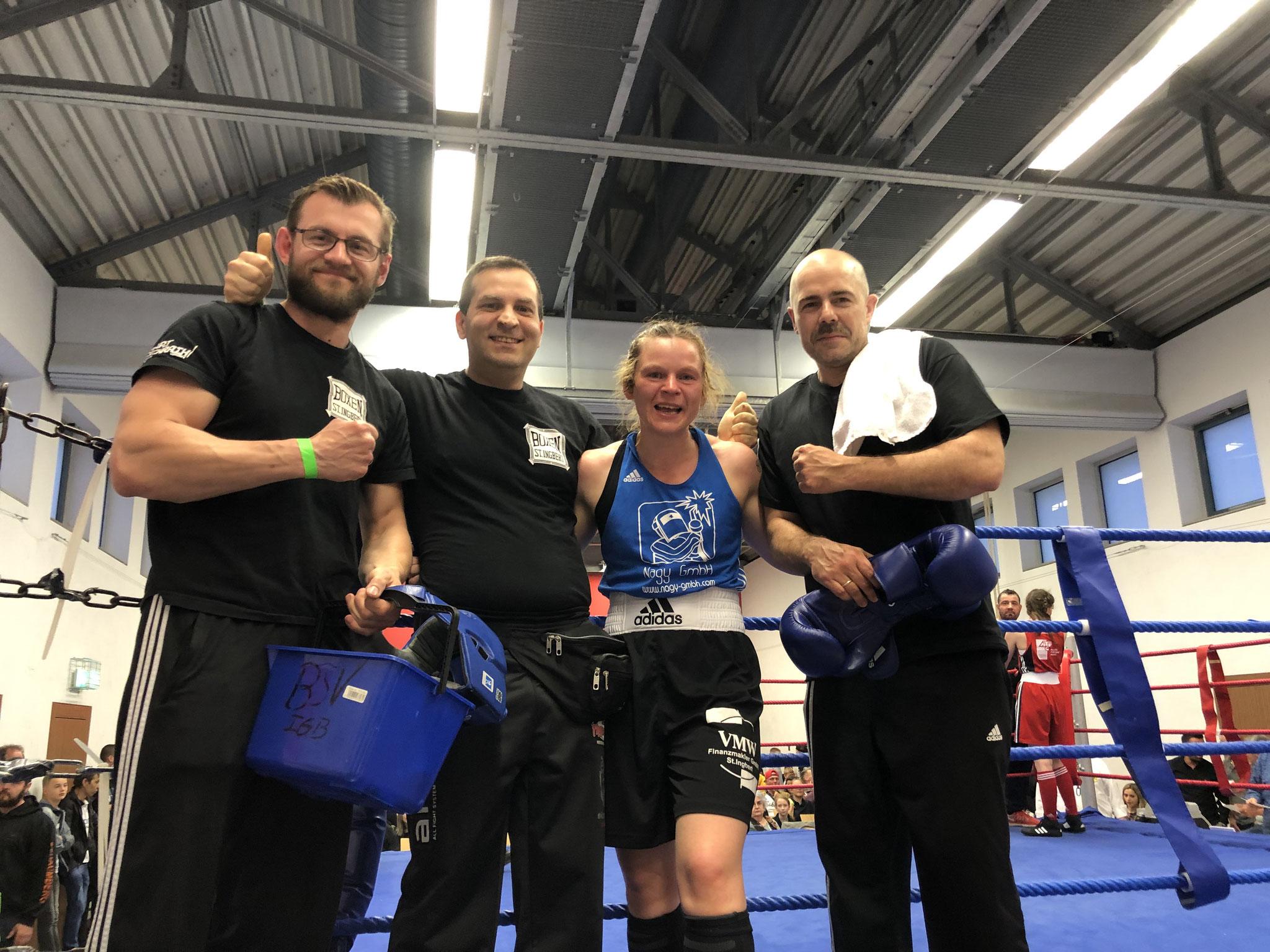 Monika Sorce, Saarlandmeister 2019, Klasse 60 kg Frauen