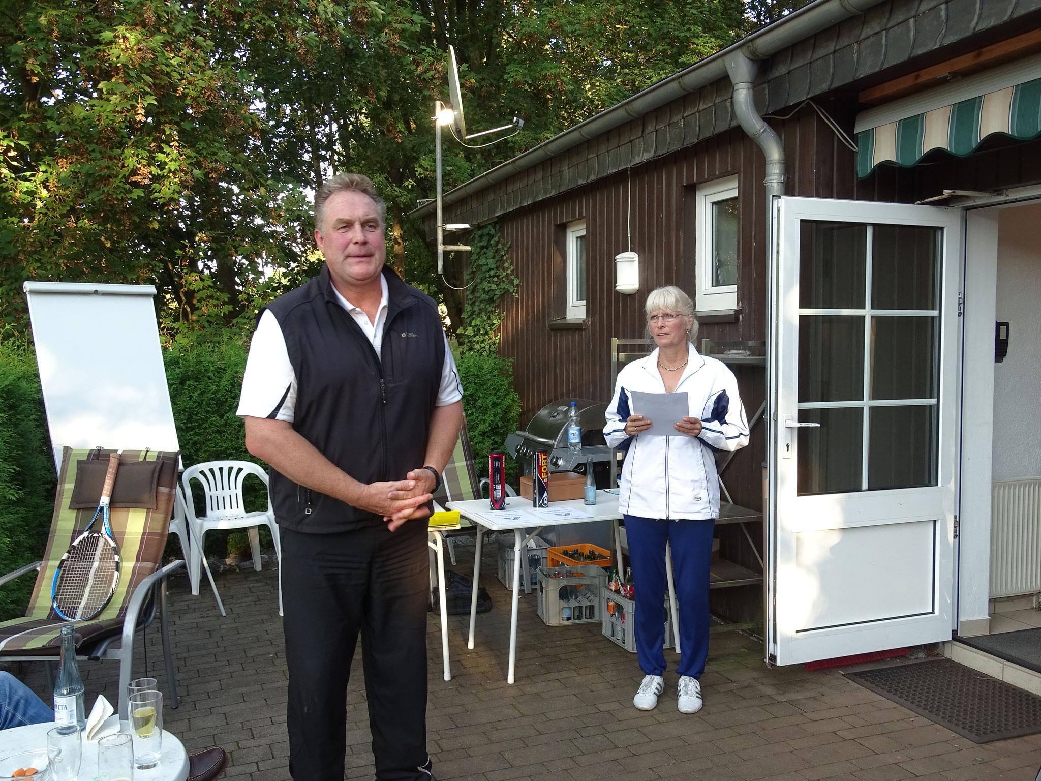 Wolfgang Haferkemper freute sich über die rege Beteiligung