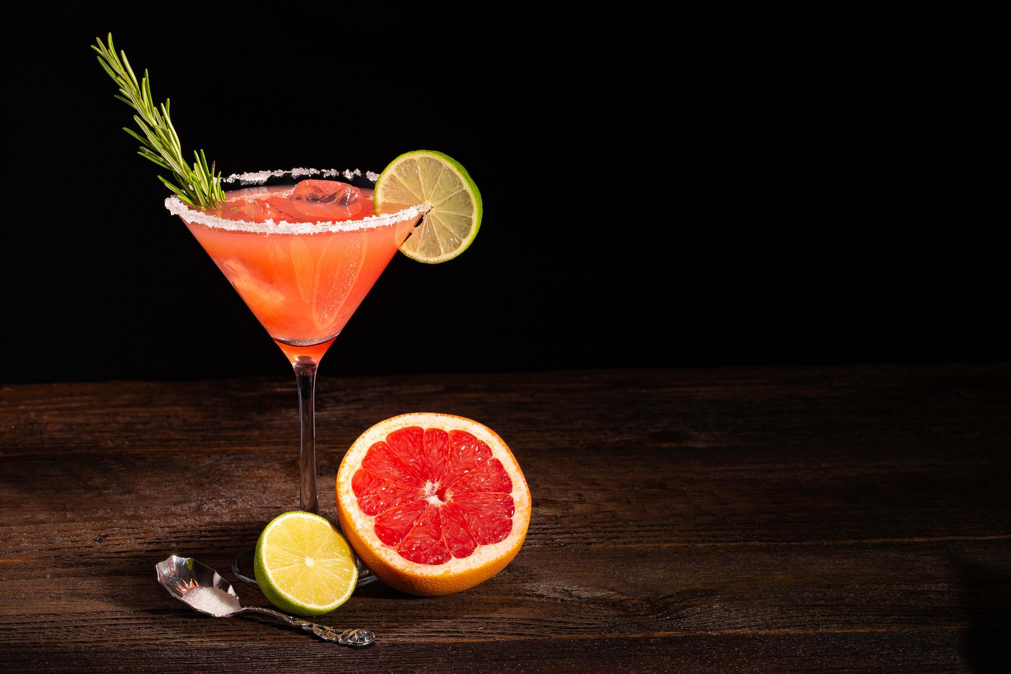 Cocktailfotos für Werbemaßnahmen.