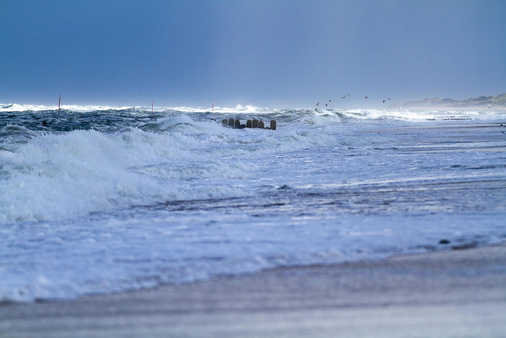 Wer die Brandung liebt, wird die Nordsee genießen.