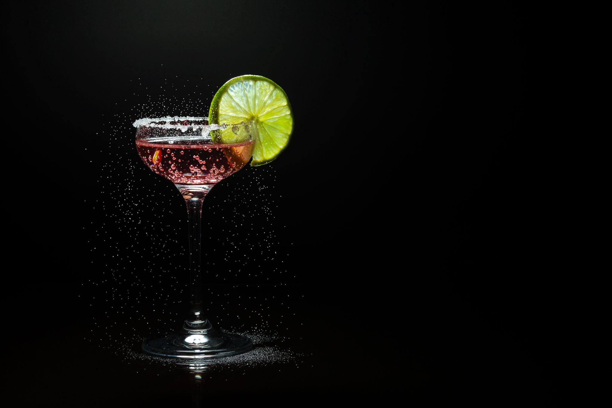 Produktfoto für Getränkekarten.