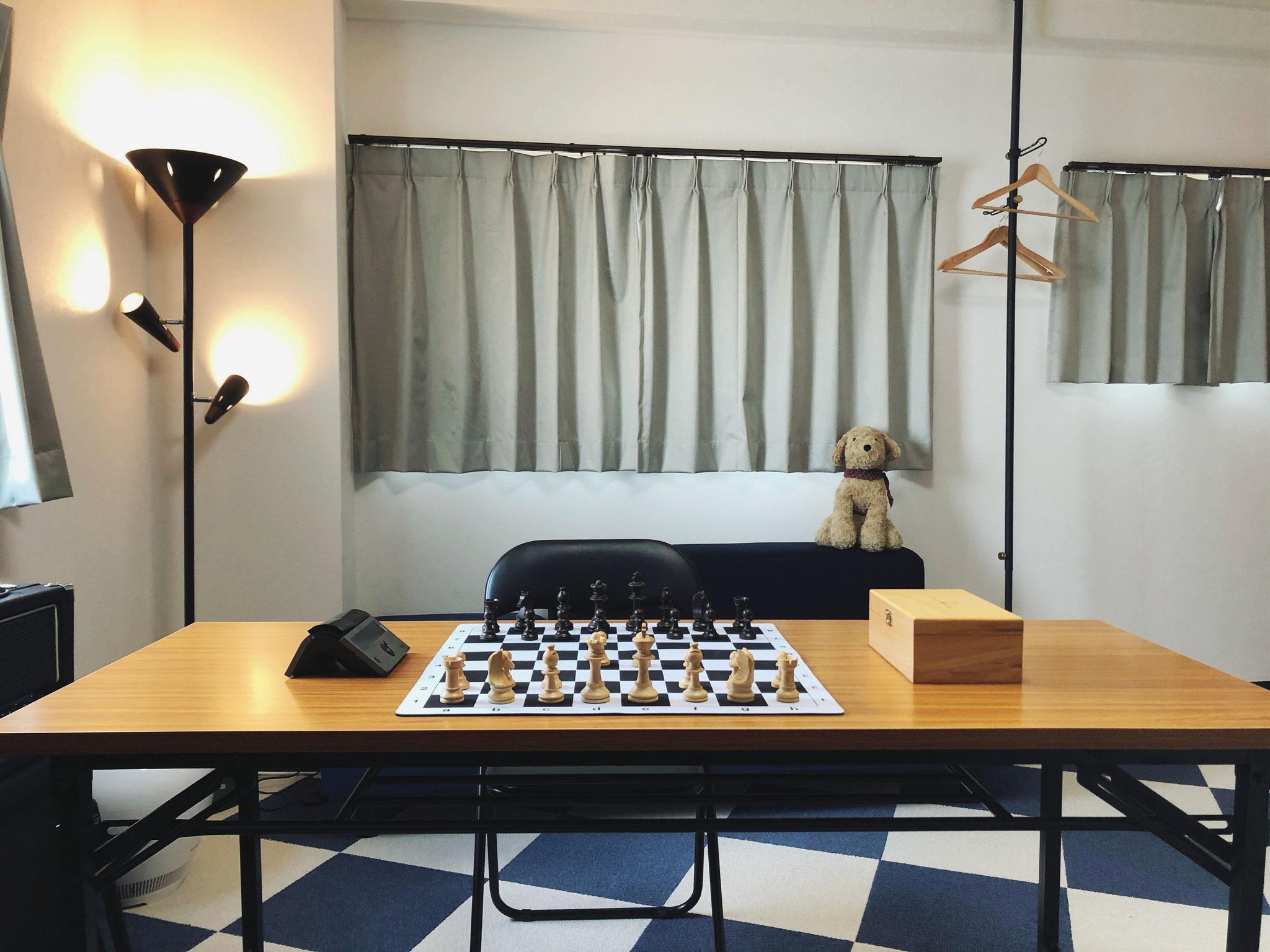 練馬チェススクール 広々とした空間でチェスレッスン