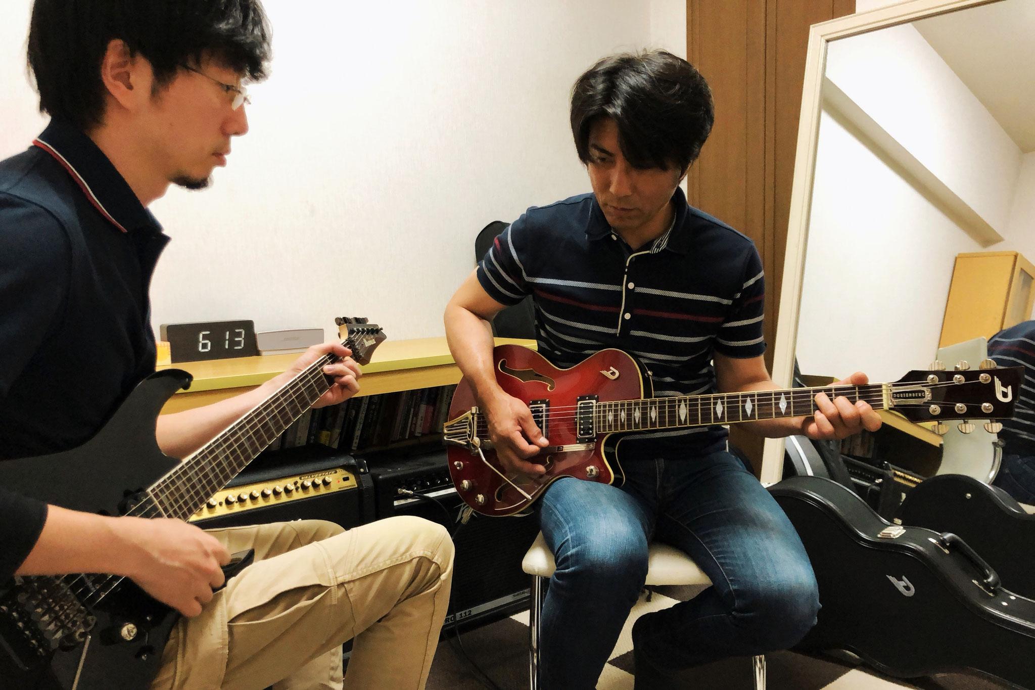 エレキギター ローコードのバッキング