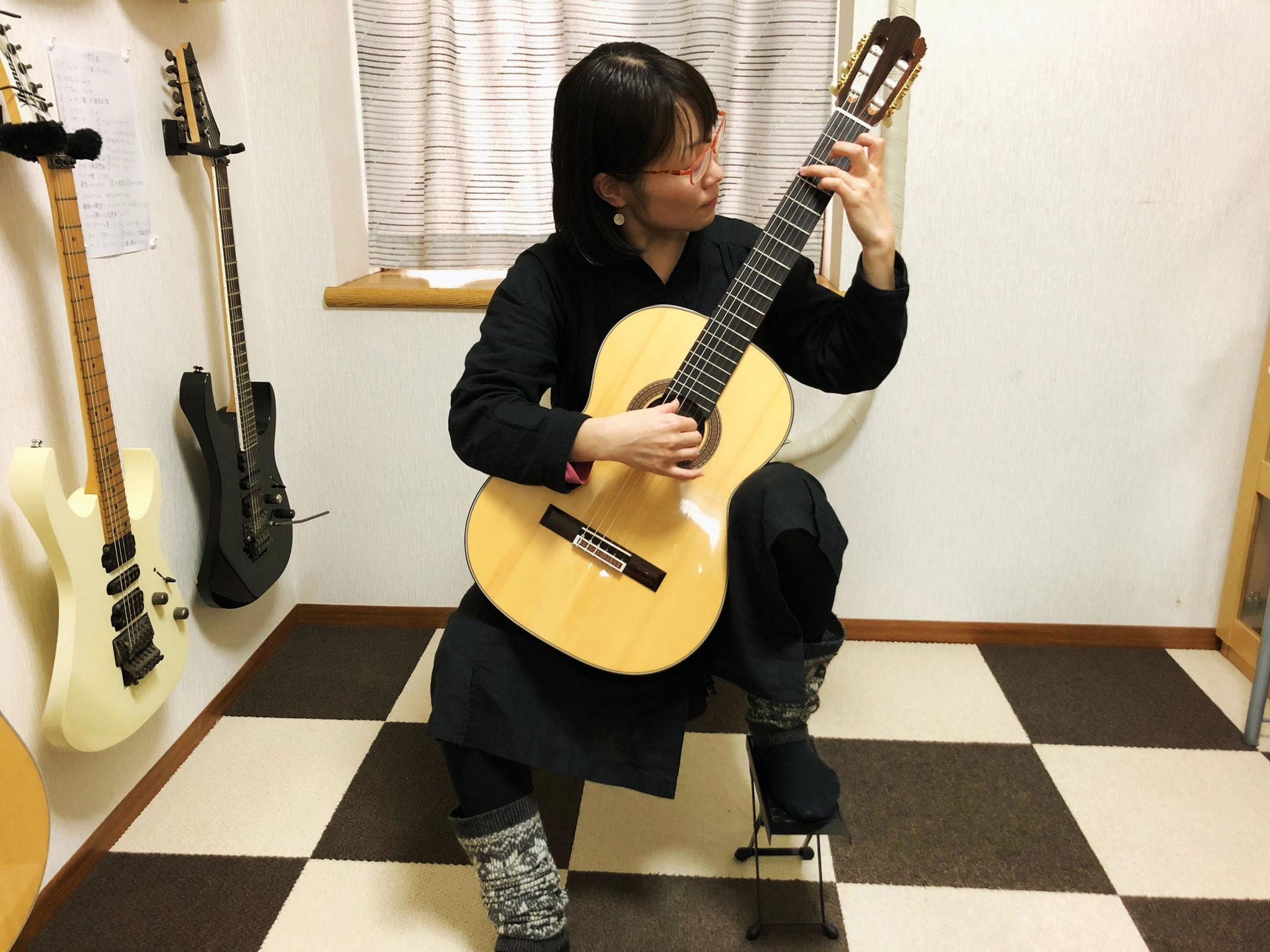 Tritoneクラシックギター教室 生徒の声インタビュー 鈴木さん