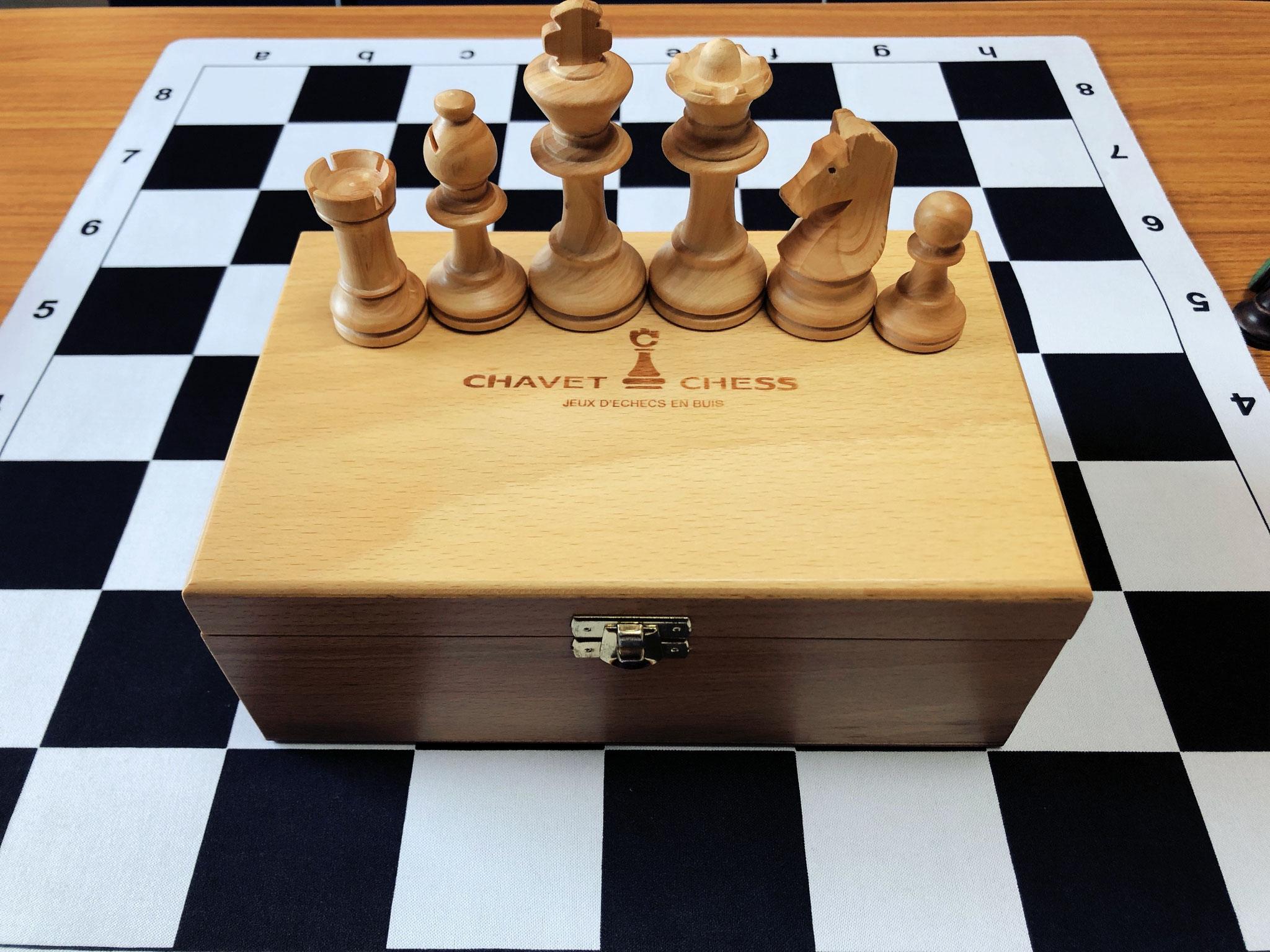 オシャレな木製スタントンチェスセット