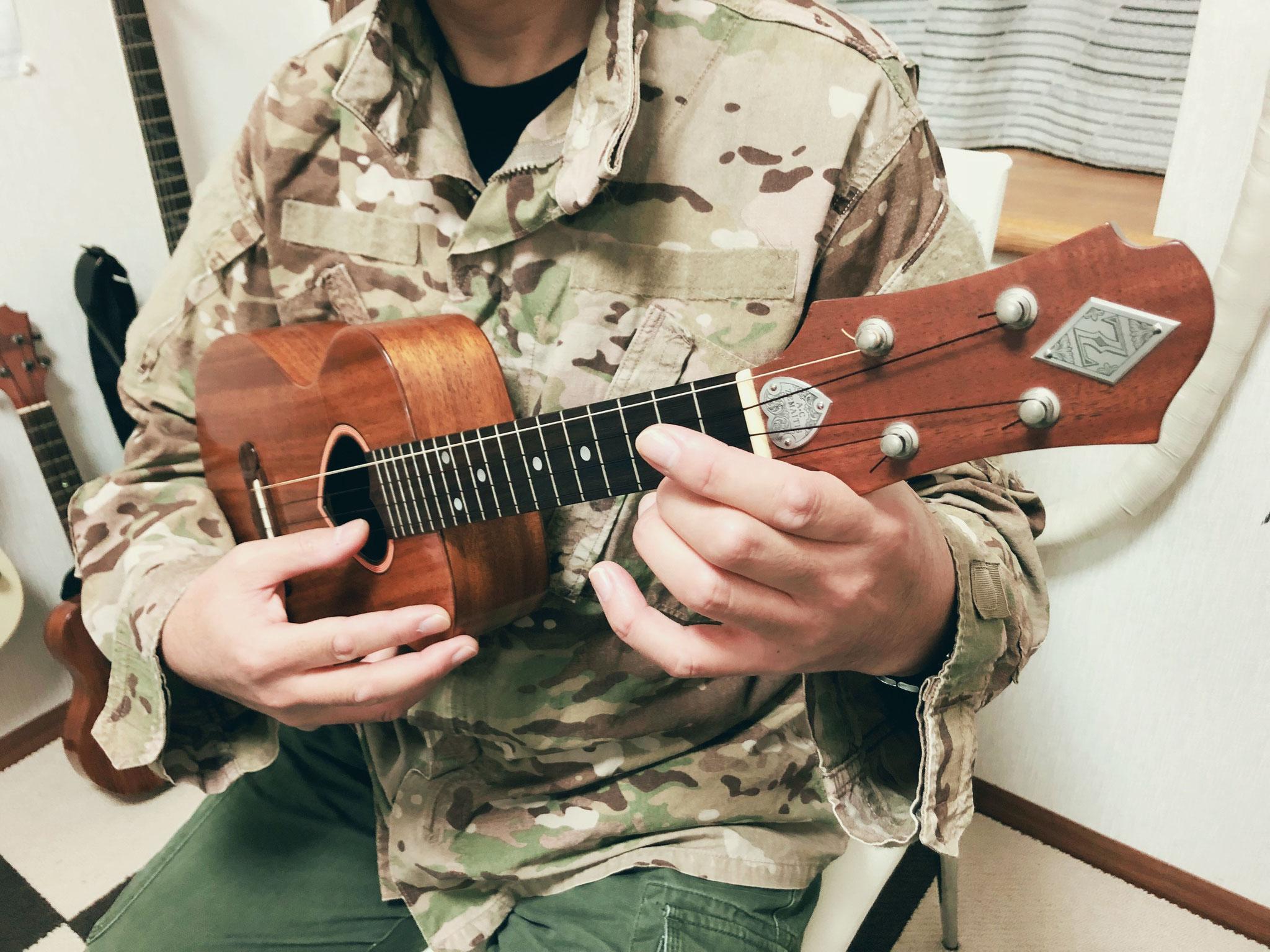 実はギターもゼマイティス なぜ持ってこなかったのか・・・笑