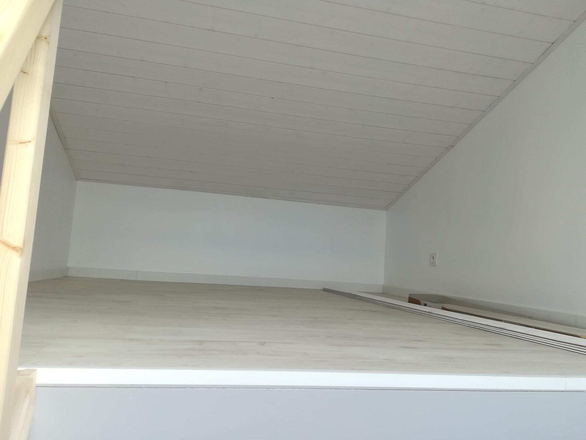 Mezzanine terminée