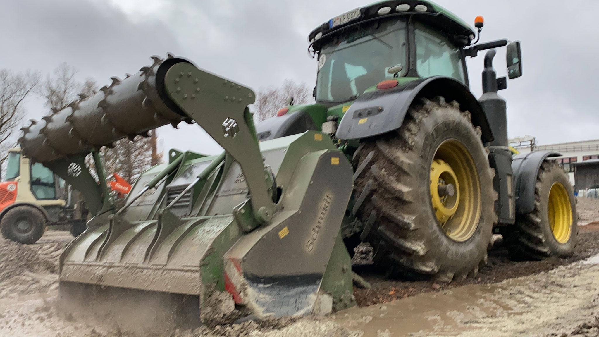 Unsere Bodenstabilisierungsfräse