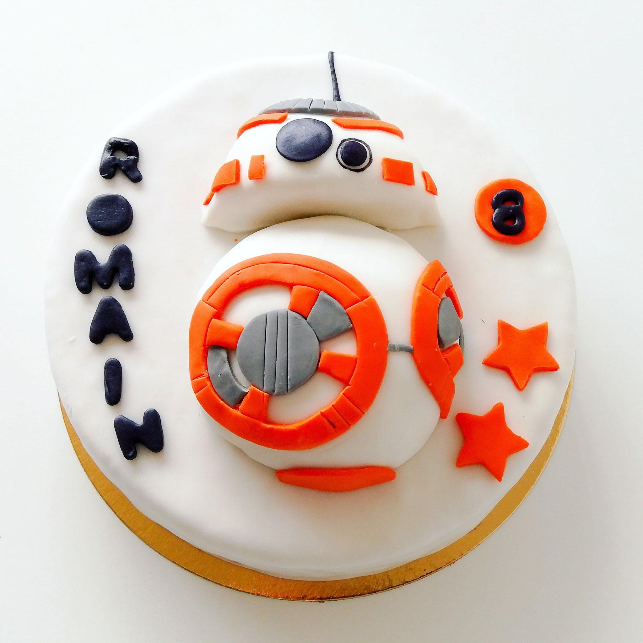 Gâteau BB8 Starwars