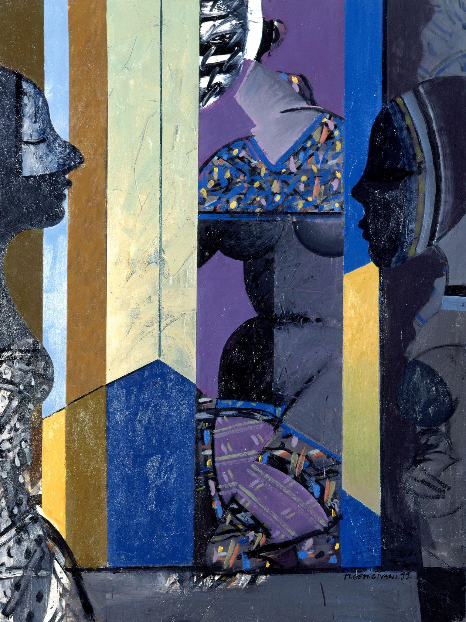 Galerie de masques - 130x97