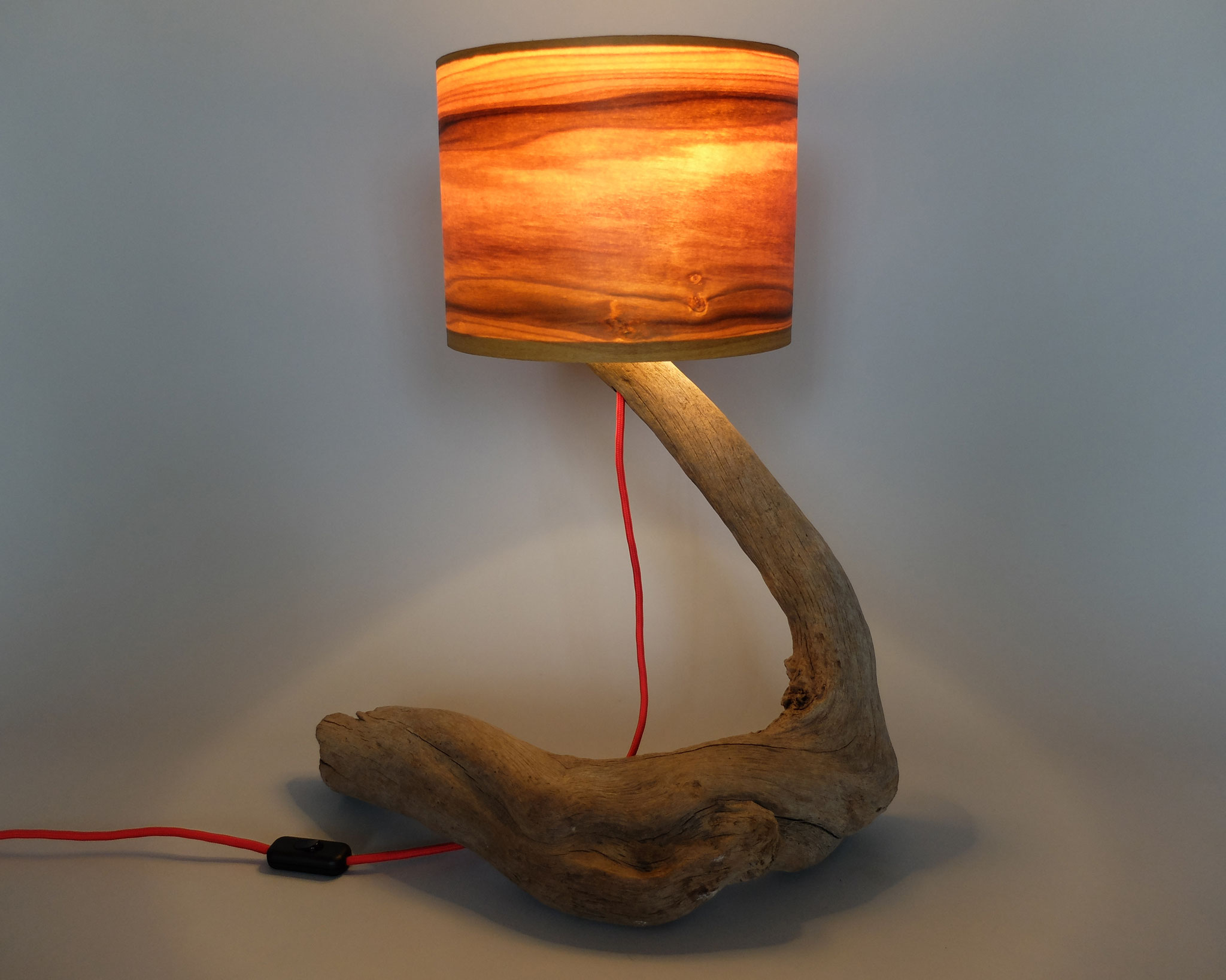 Upcycling Tischlampe Olor