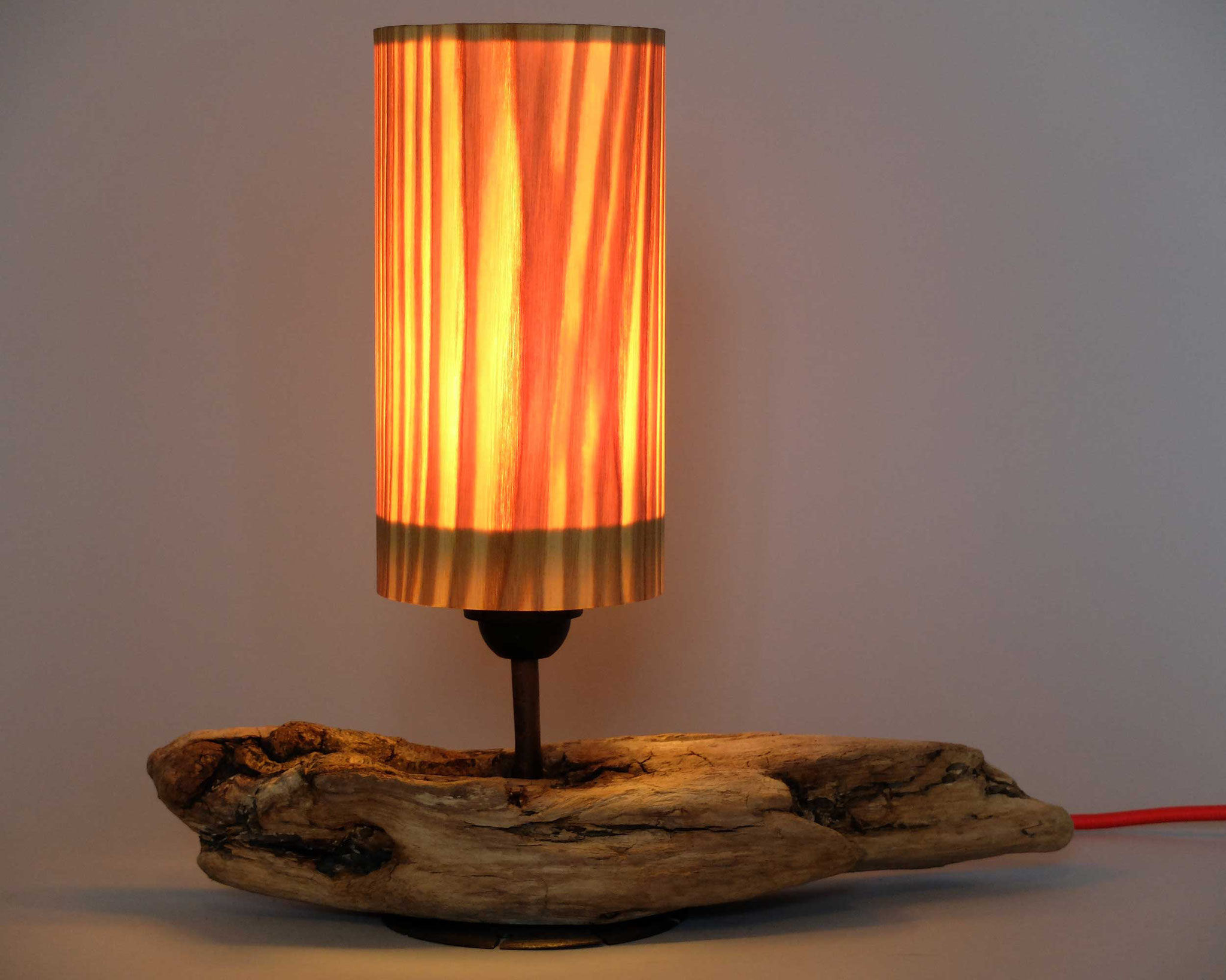 Upcycling Tischlampe Pristis