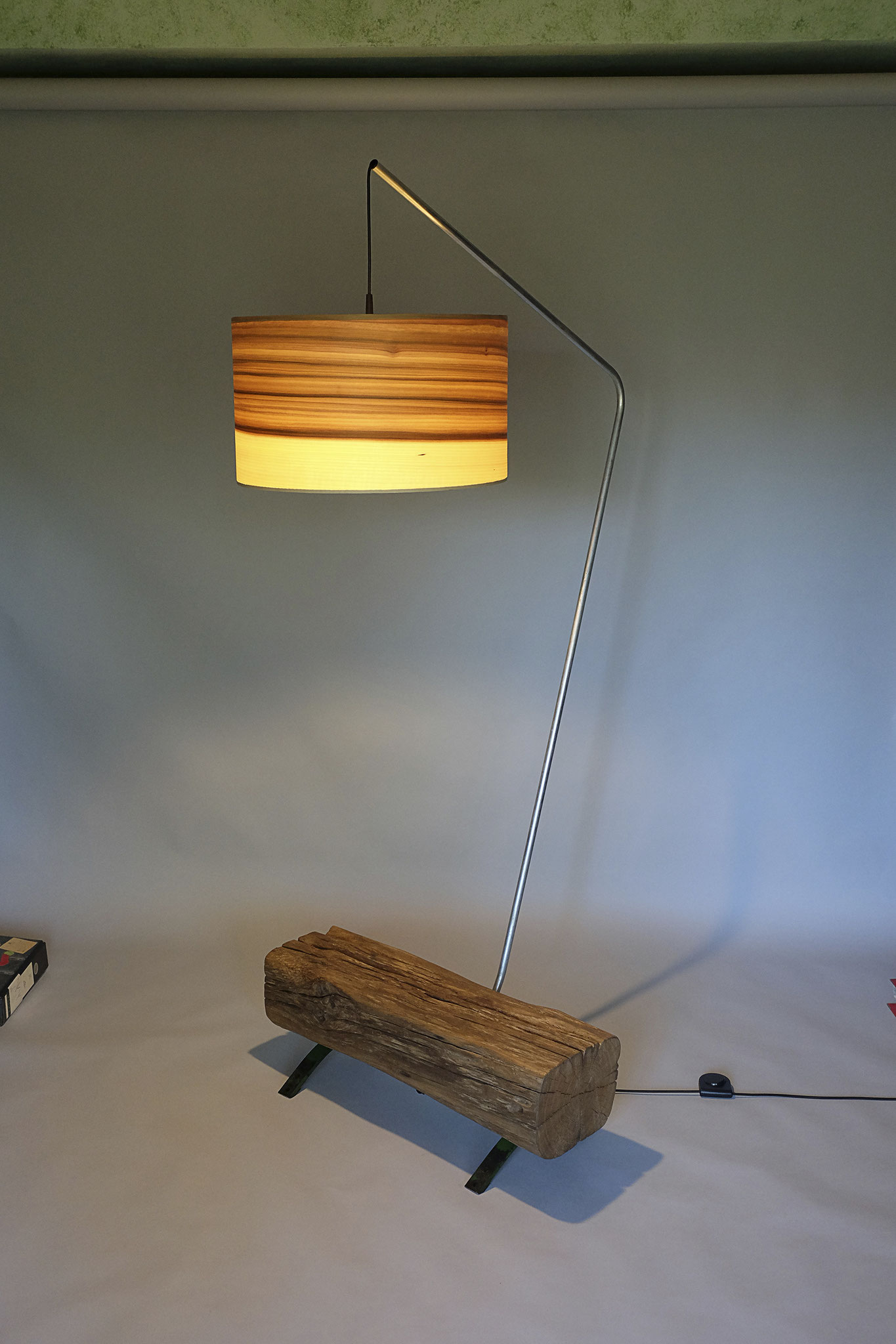 Upcycling Stehlampe Ripam