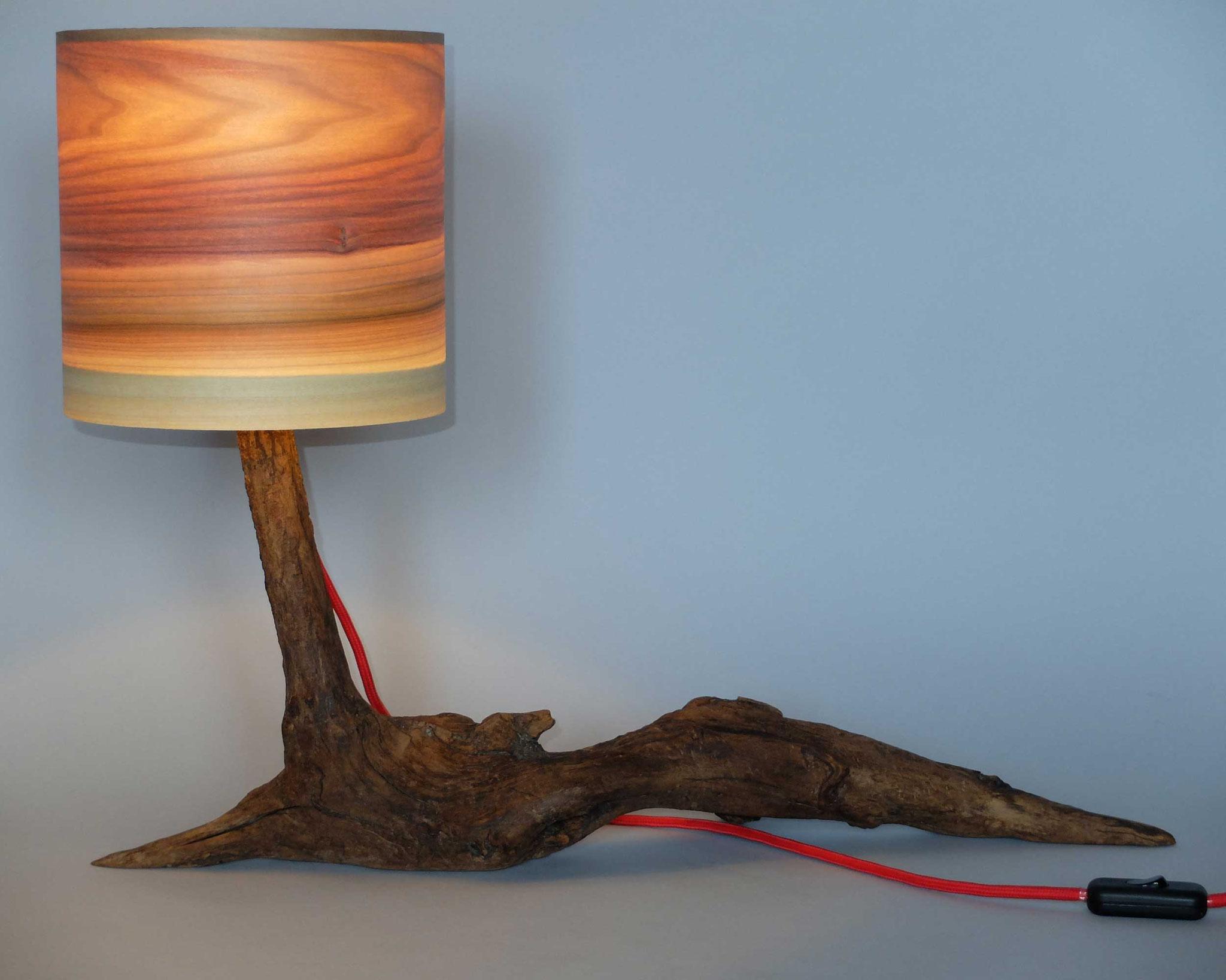 Upcycling Tischlampe Phoca