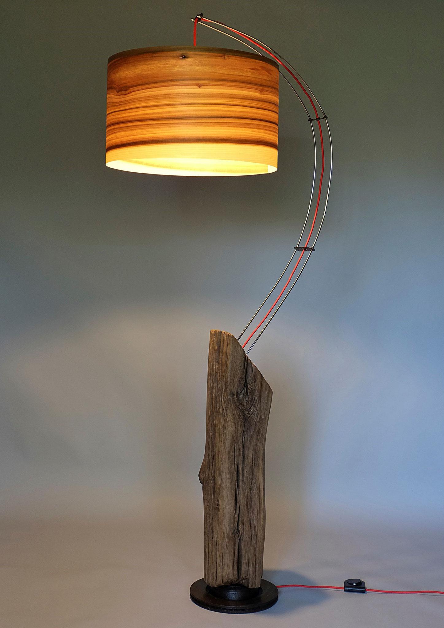 Upcycling Stehlampe Falcem