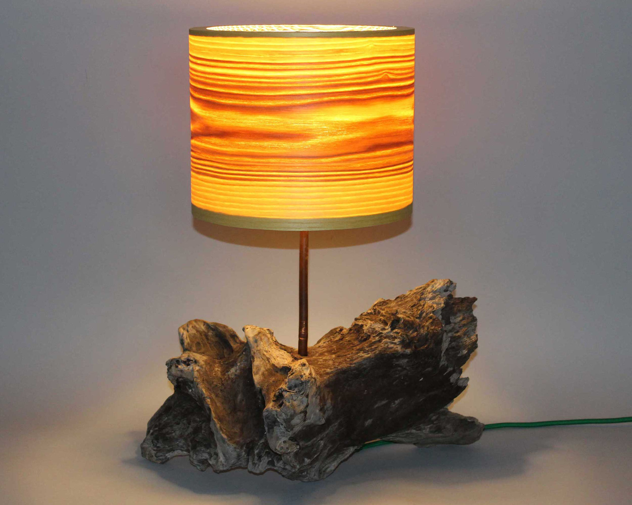 Upcycling Tischlampe Canus