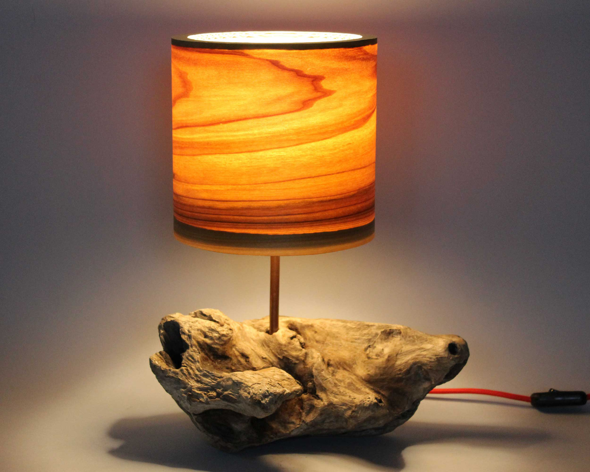 Upcycling Tischlampe Rupes