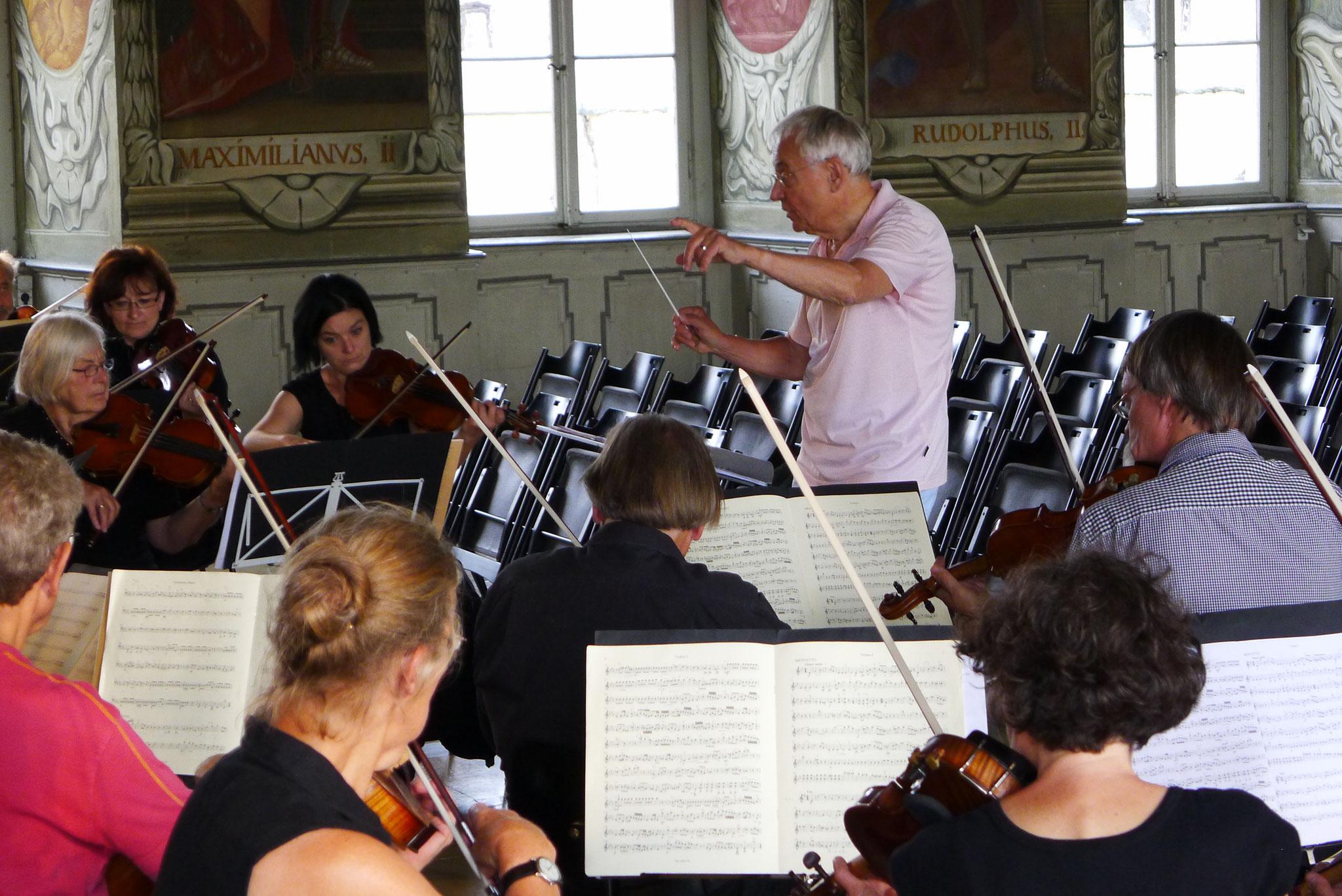 Kaisersaal Bamberg, 27. Juli 2016: Collegium Musicum Bamberg