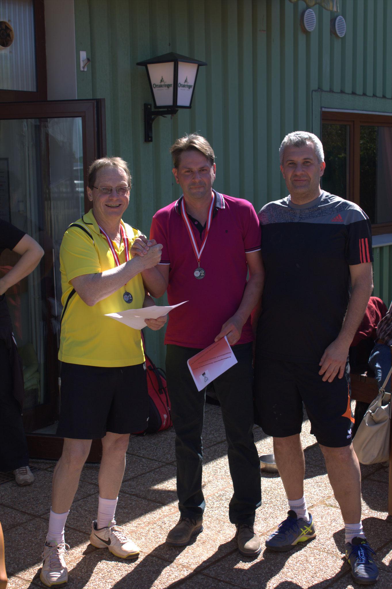 2. Platz: Markus Unger und Gerhard Dangl