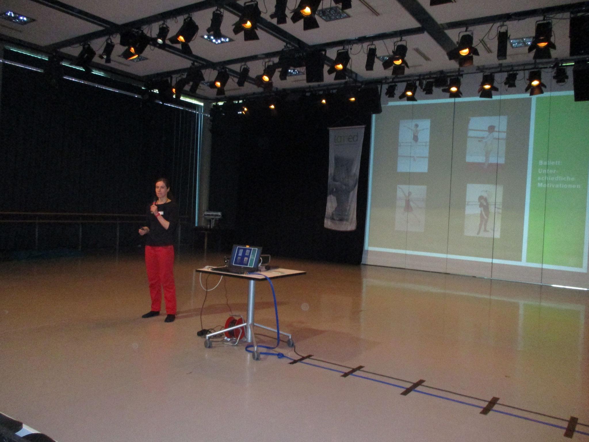 Mein Vortrag im Grünen Saal