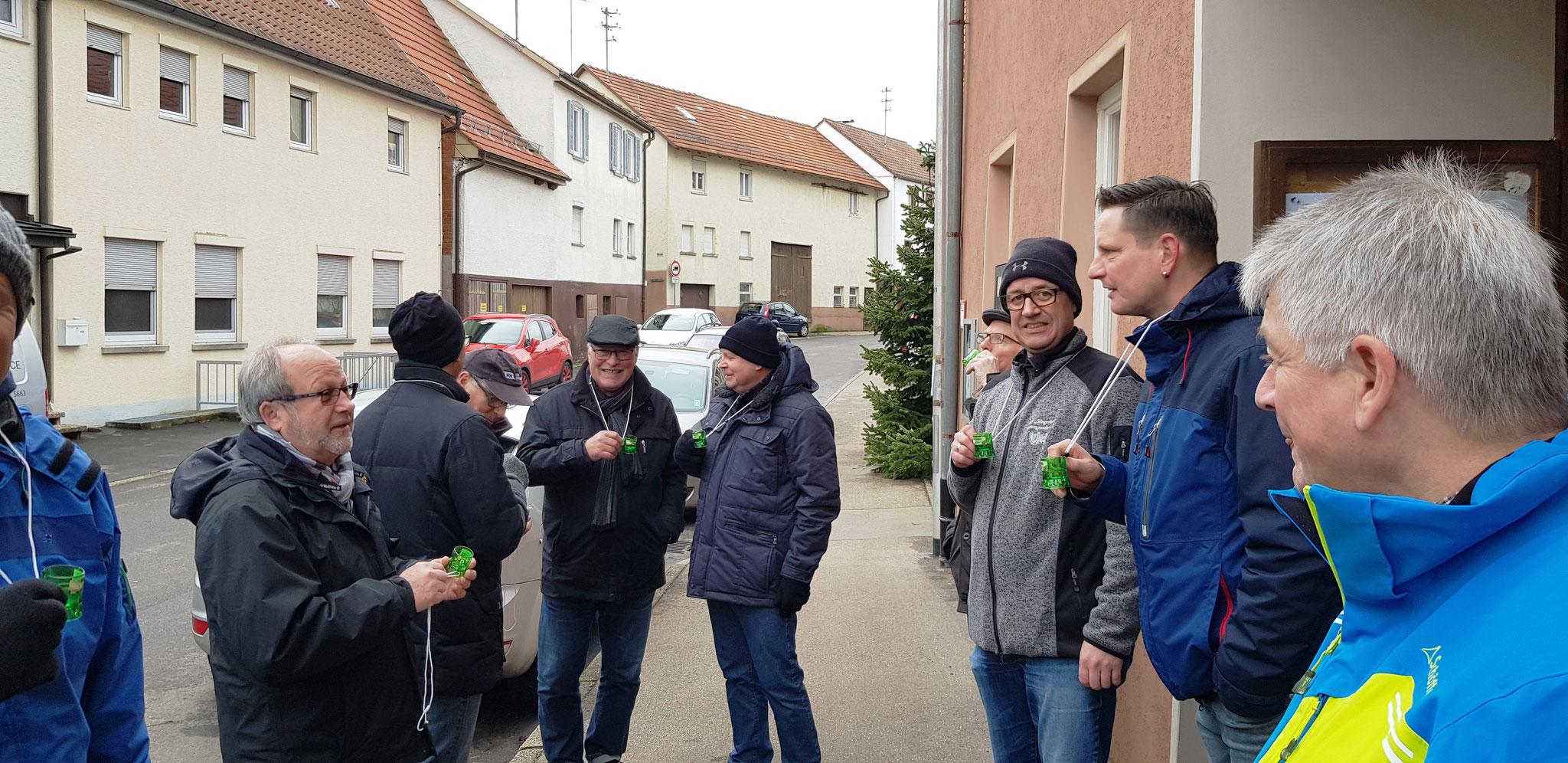 MGV 'Sängerlust' Breuningsweiler - Winterwanderung