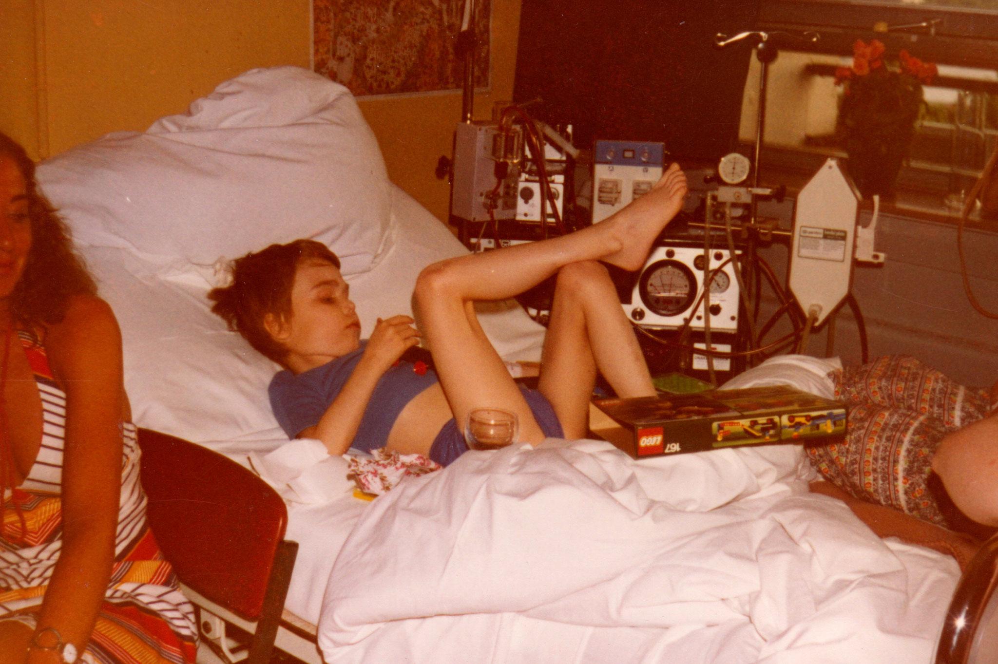 1979 Dialyse in Heidelberg alte Kinderklinik.