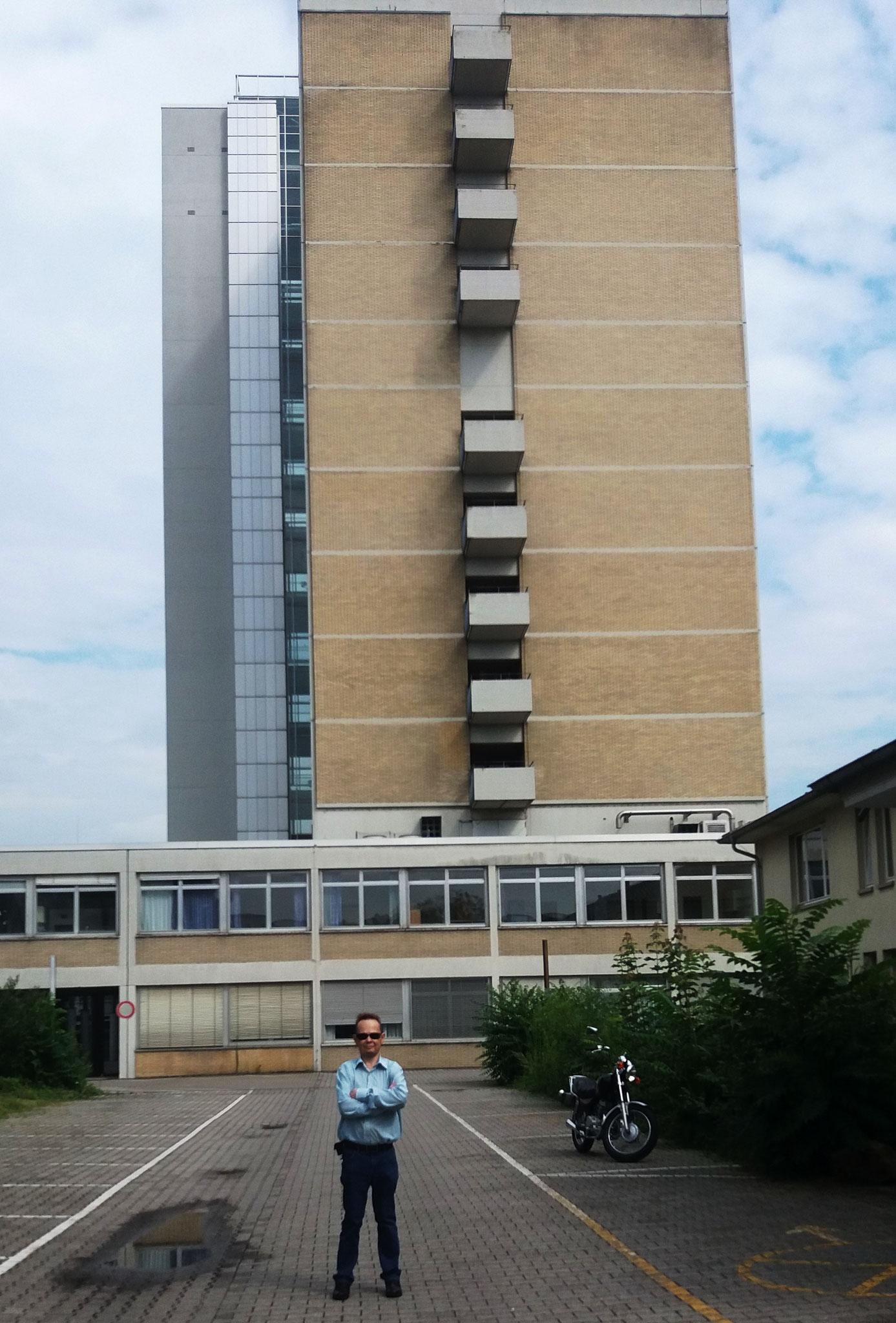 2016 Besuch an alten Orten meiner Kindheit rund um die alte Kinderklinik Heidelberg.