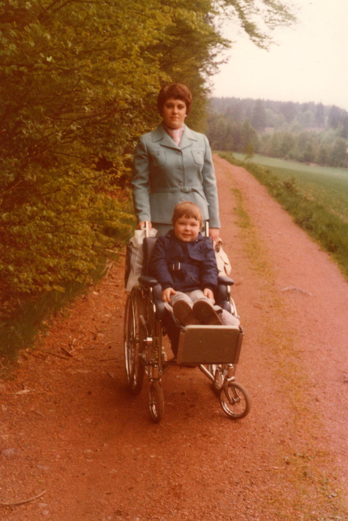 Ausflug zum Weiher mit meiner Mutter