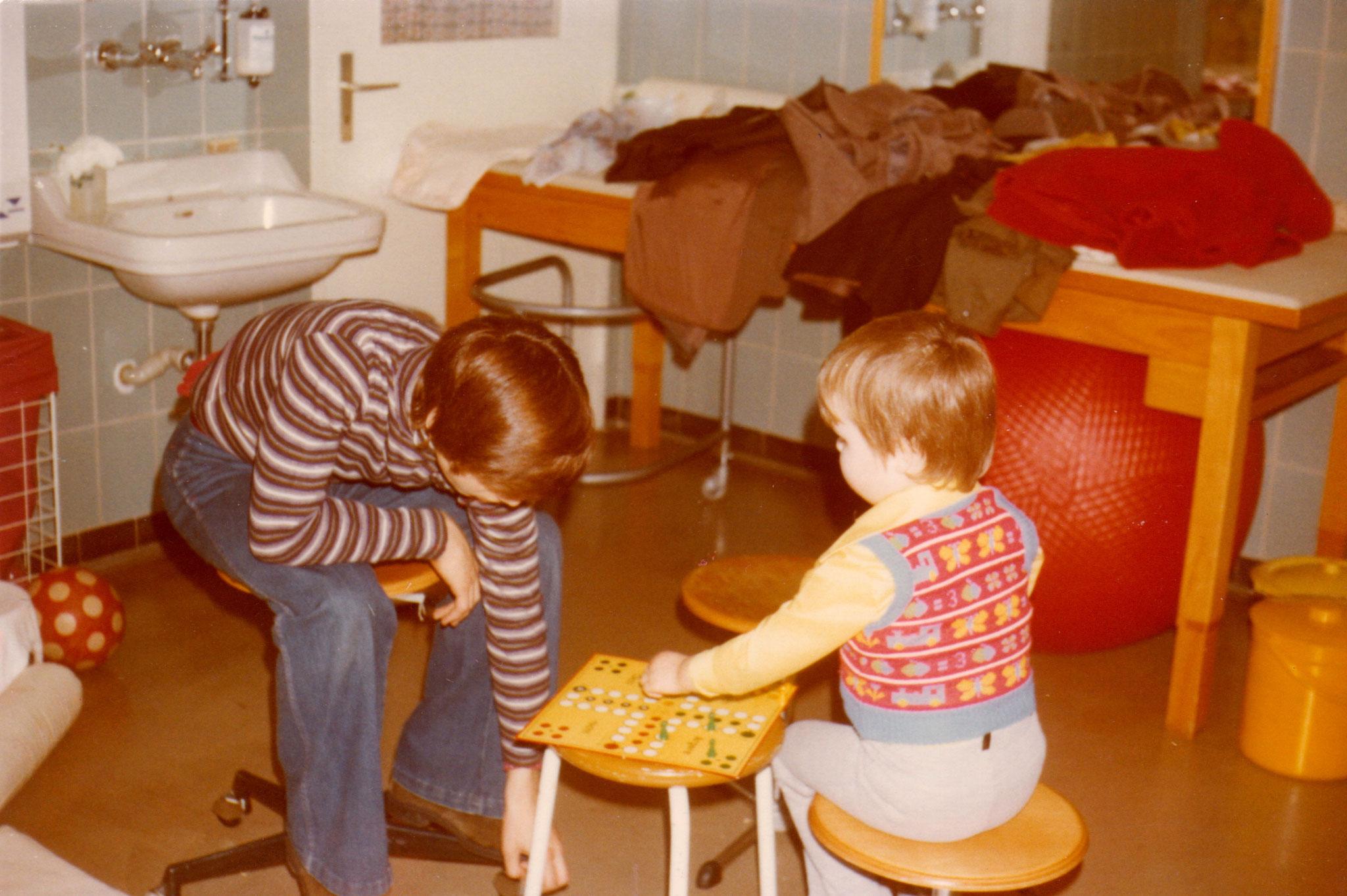 Spielen beim Kindergeburtstag