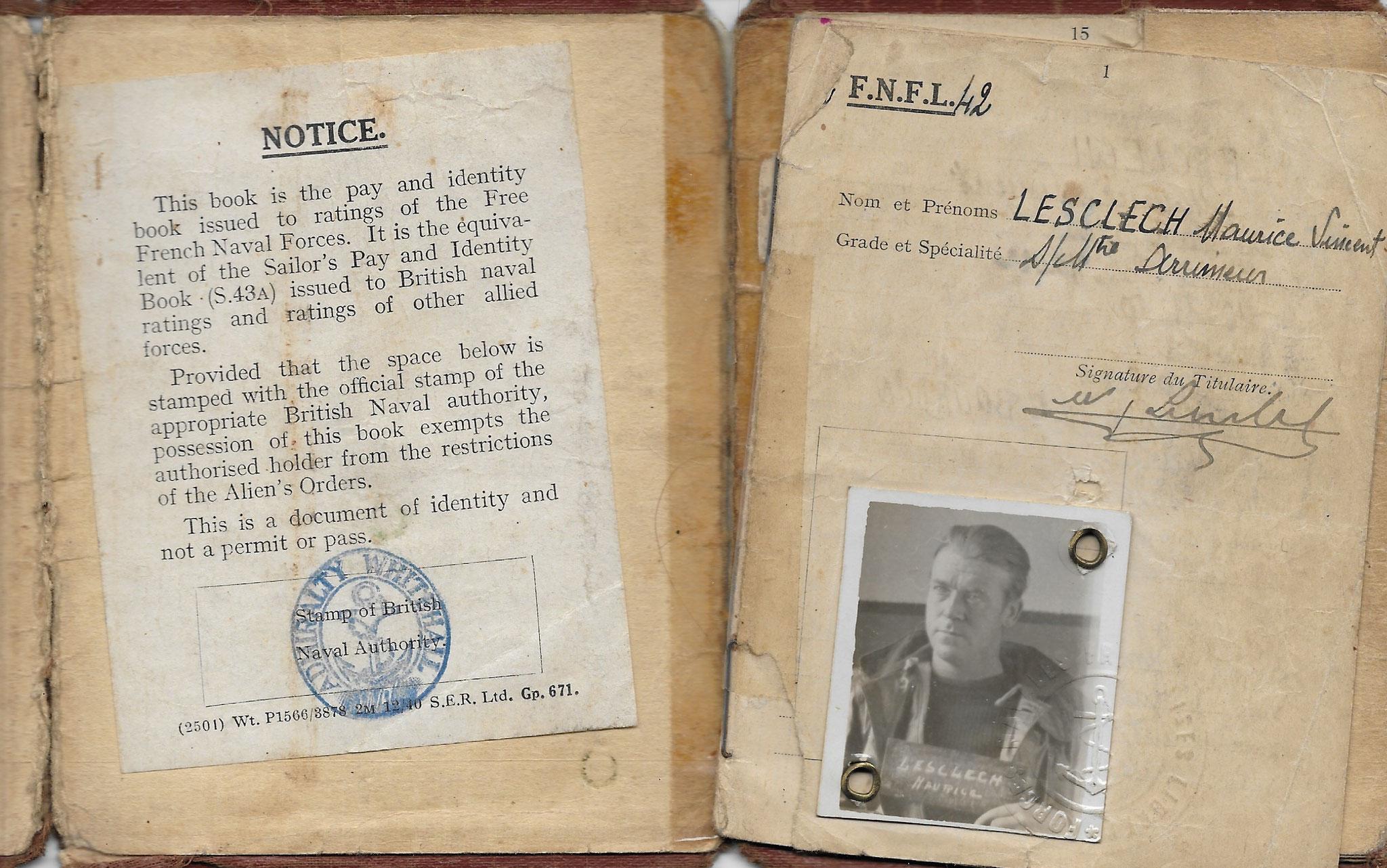 Pays Book RAF - copyright Jacques Lesclech