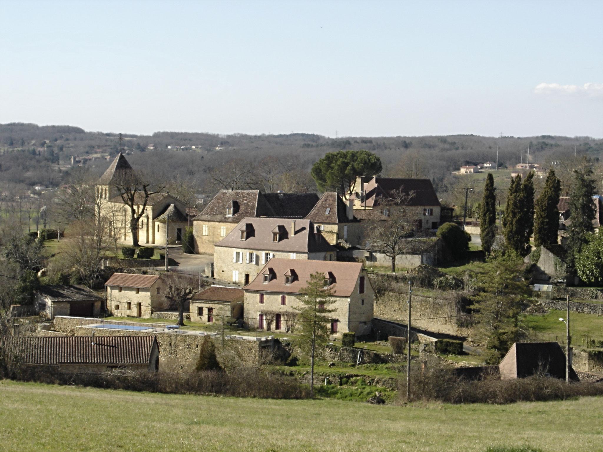 Le village de Calès