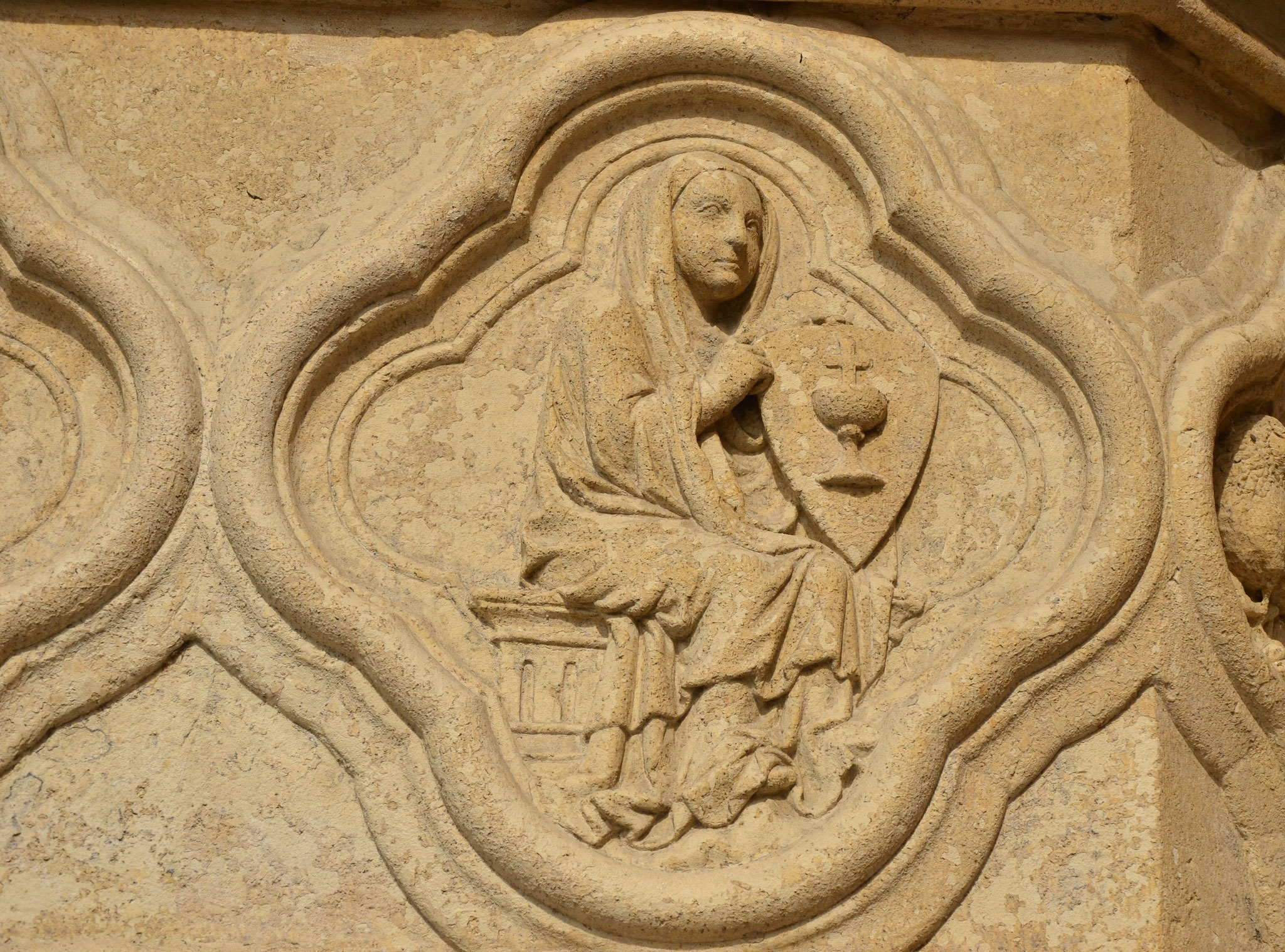 Sculpture de la cathédrale d'Amiens, Picardie
