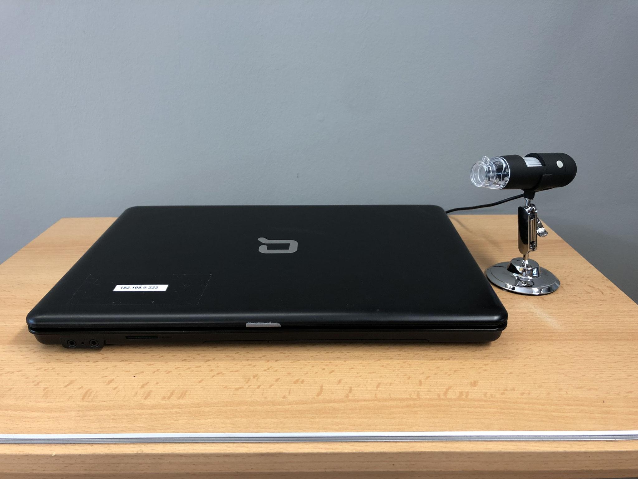 USB-Mikroskopie